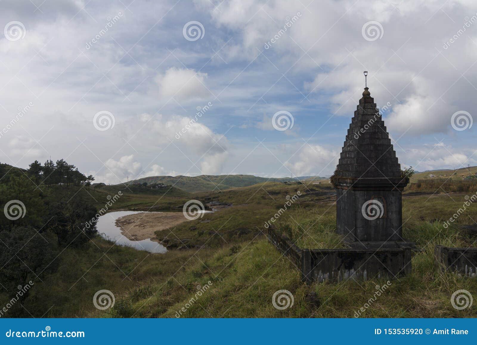 Schöne Landschaft auf dem Weg zu Sohra nahe Cherrapunjee, Meghalaya, Indien