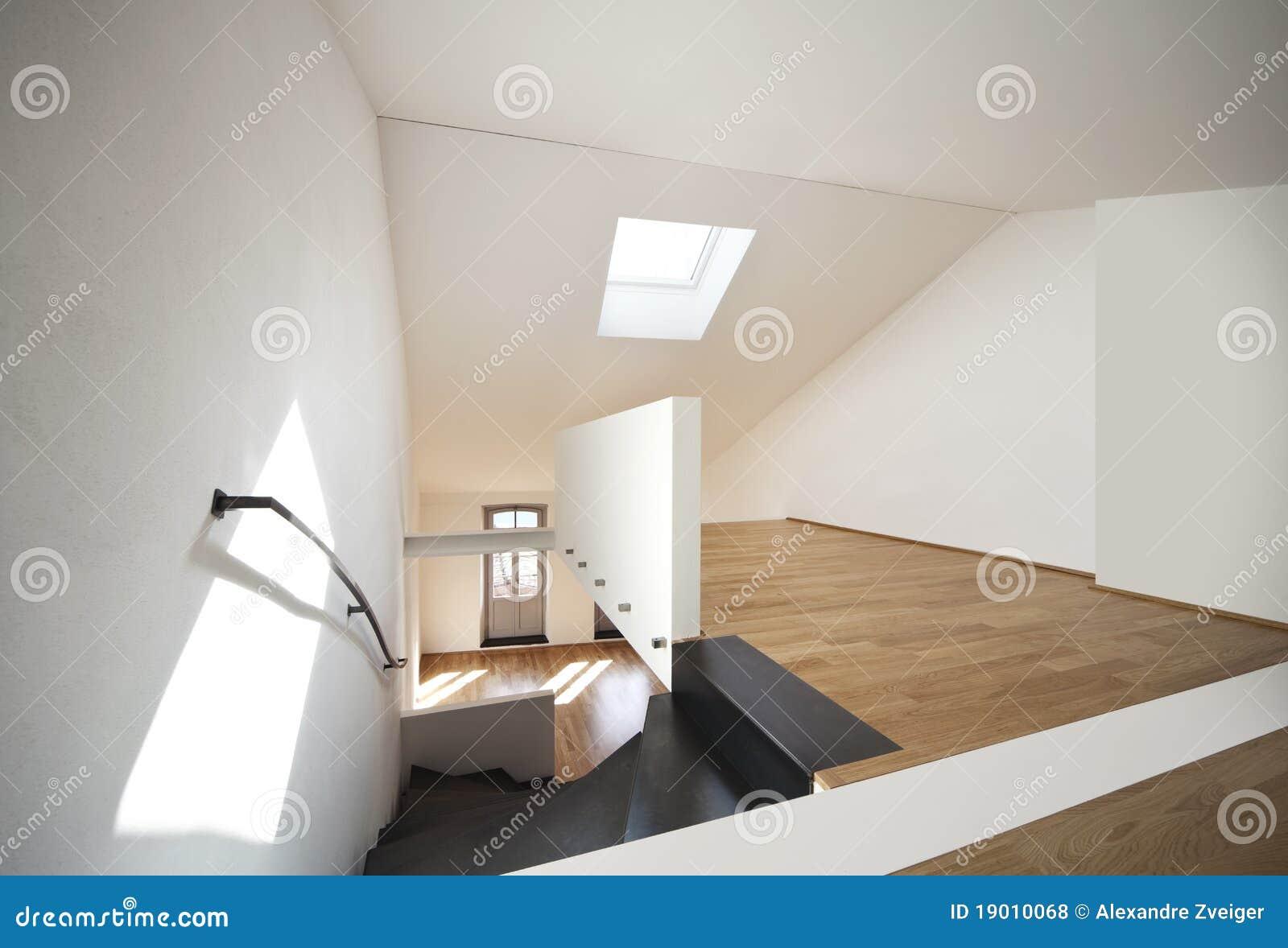 sch ne moderne wohnung loft duplex lizenzfreie stockfotos. Black Bedroom Furniture Sets. Home Design Ideas