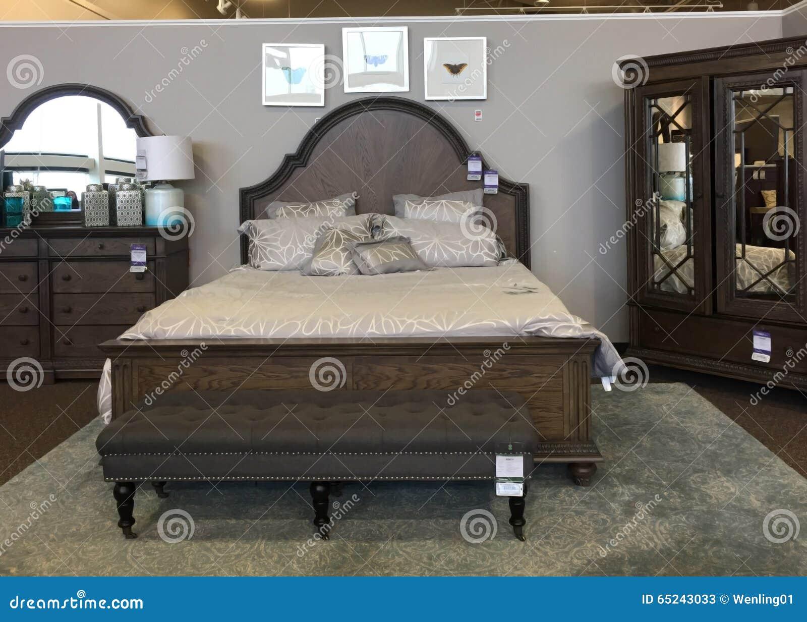 Schone Schlafzimmermobel Redaktionelles Stockfoto Bild Von Haupt