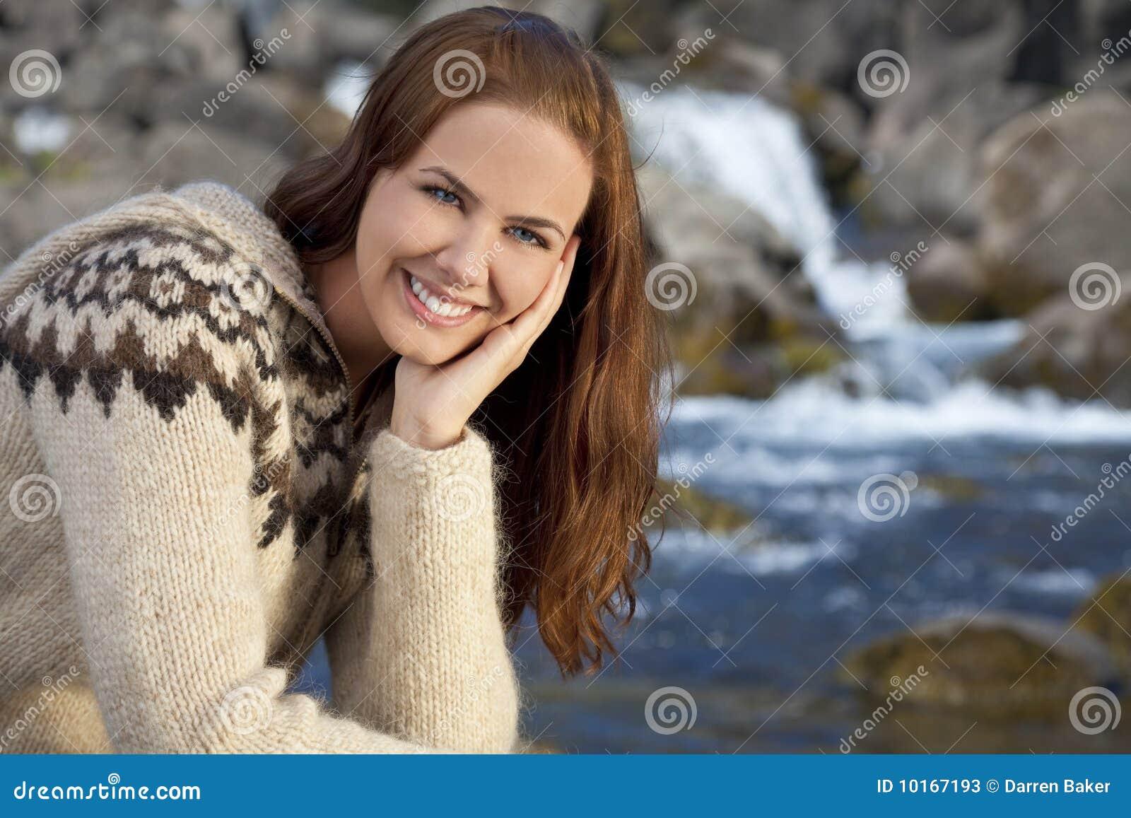 Schöne Skandinavische Frau Stockfotos - Bild: 10167193