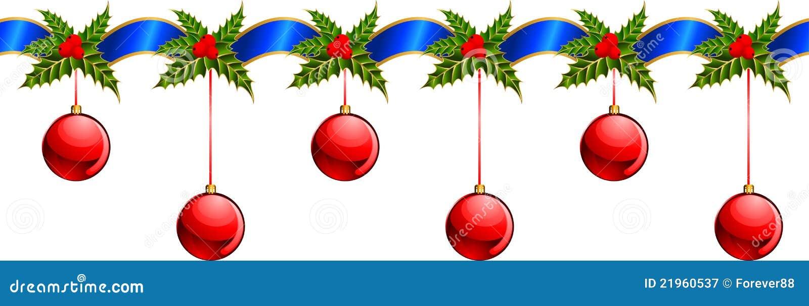 sch ne weihnachtsgirlande vektor abbildung bild von gr n. Black Bedroom Furniture Sets. Home Design Ideas