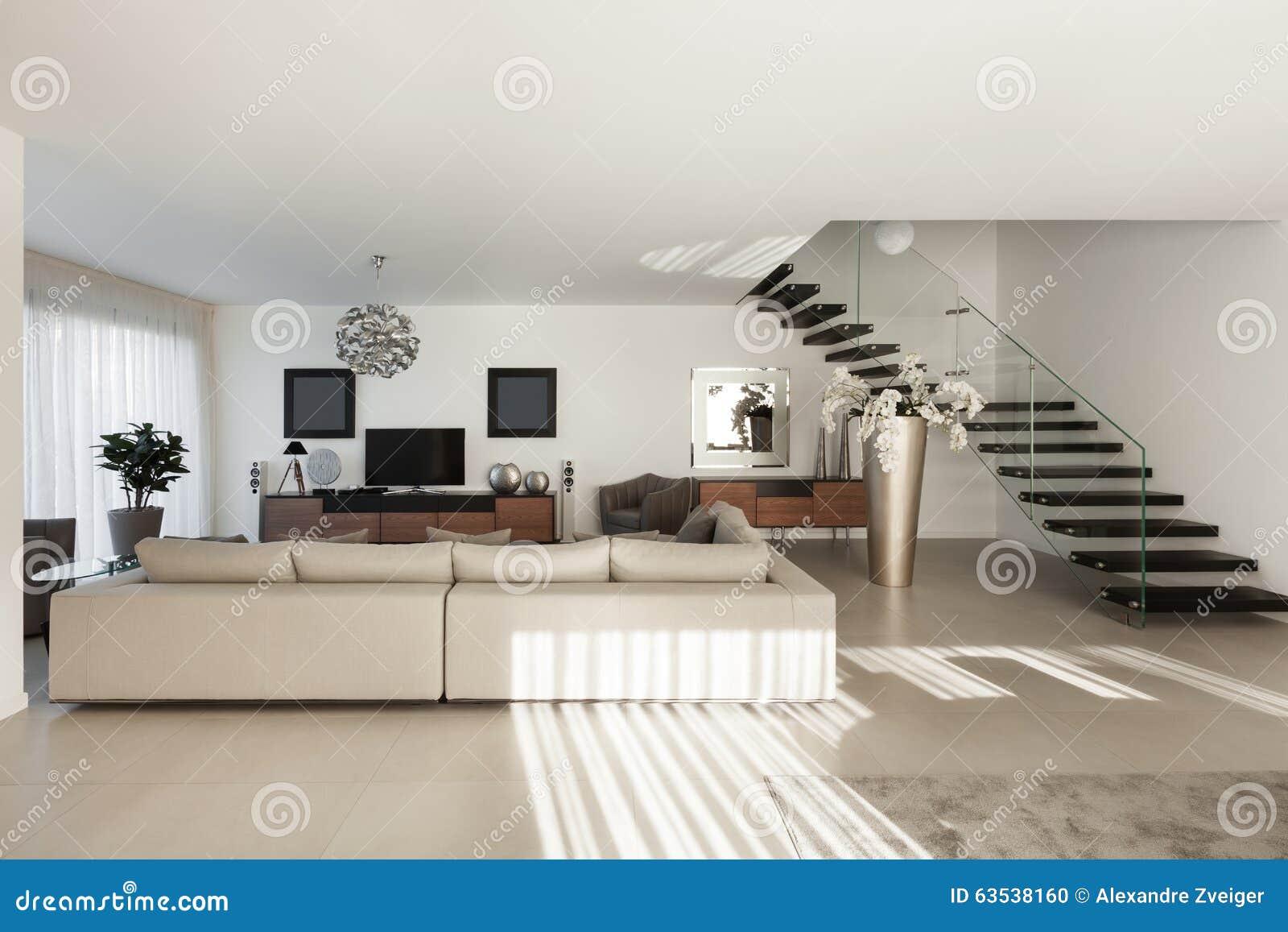 sch ne wohnung innen stockfoto bild von auslegung wohnung 63538160. Black Bedroom Furniture Sets. Home Design Ideas