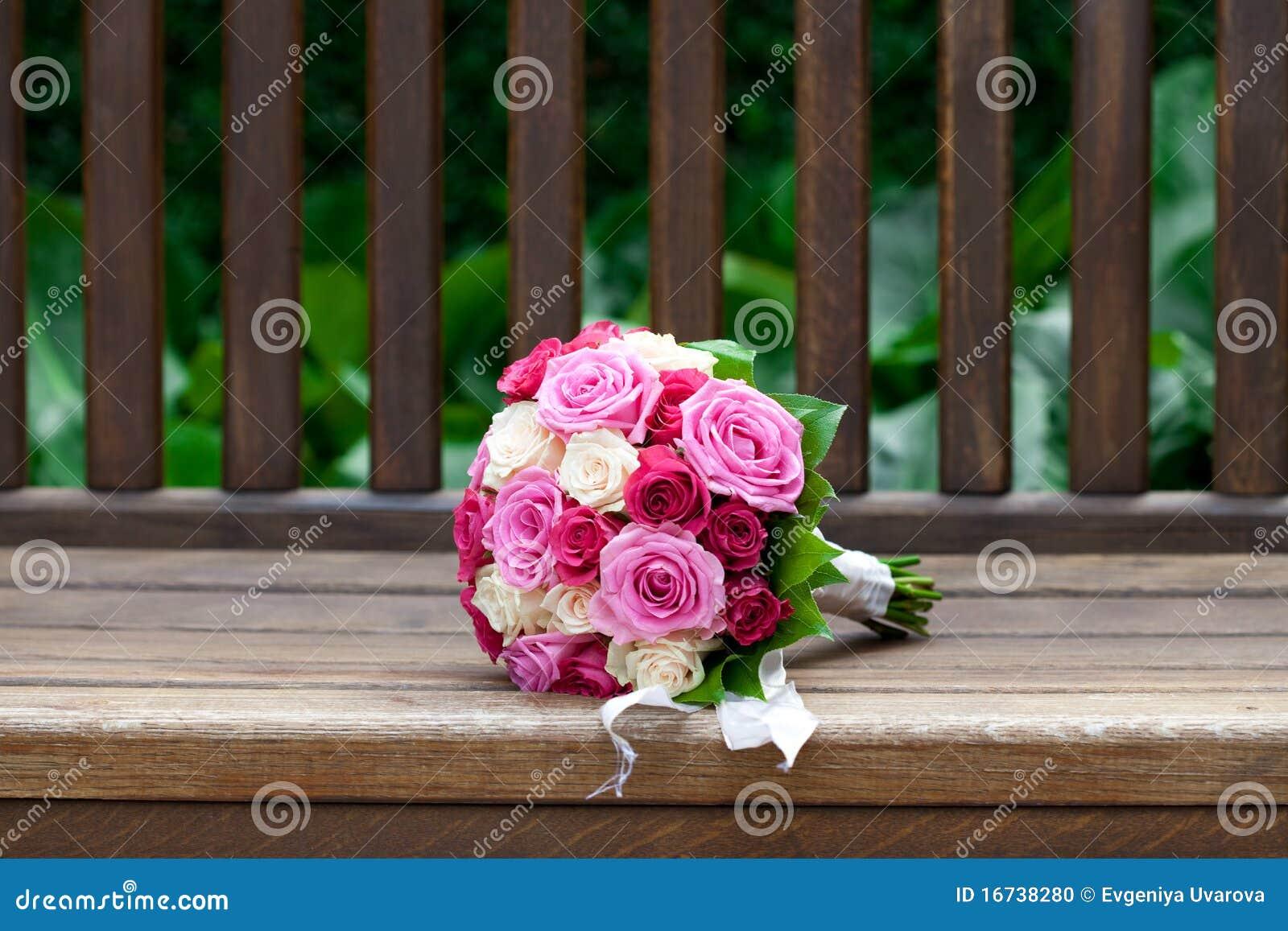 Schöner Brautblumenstrauß