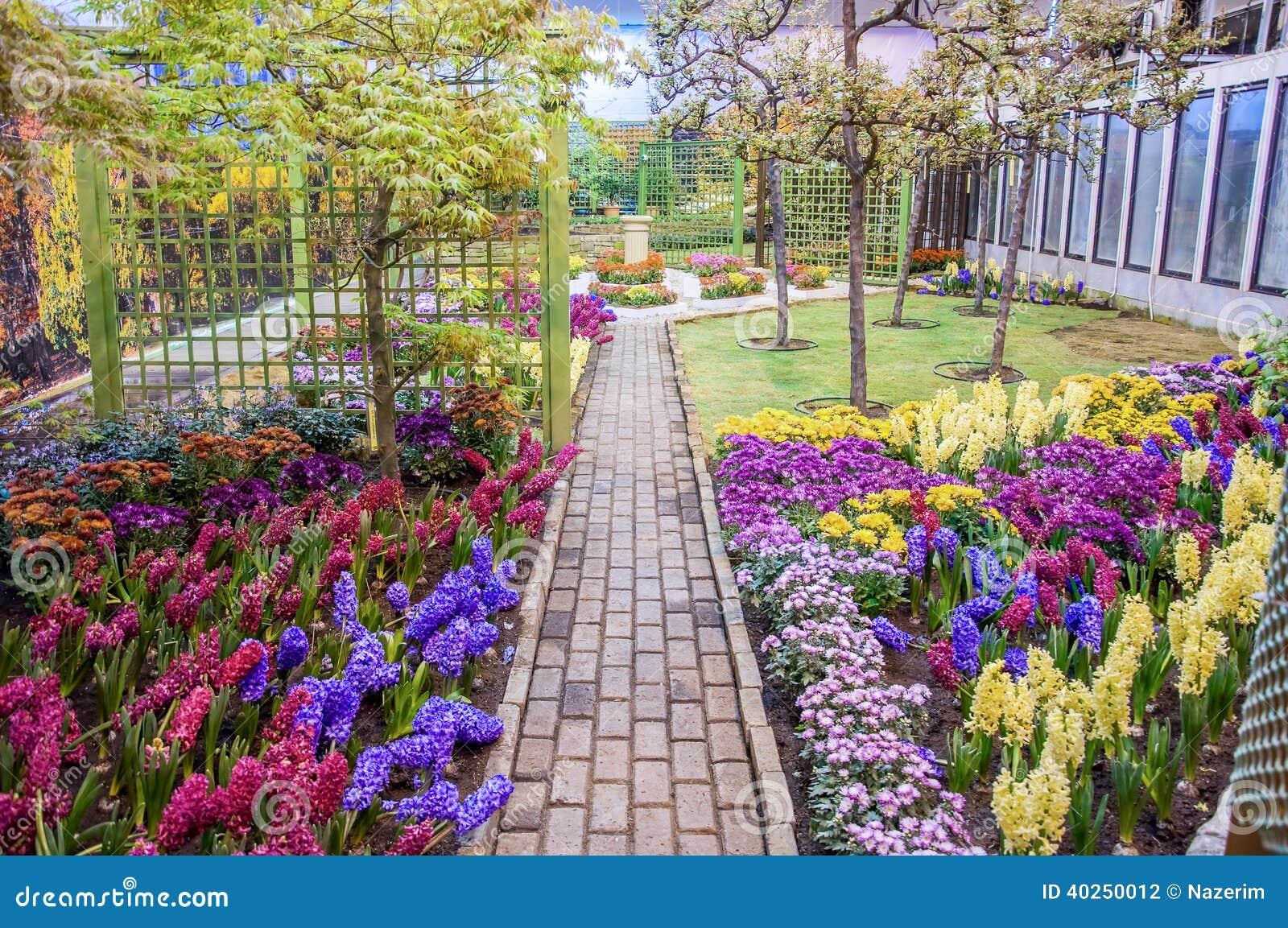 Schöner Garten am Frühling, Taman Botani Negara Shah Alam, Malaysia
