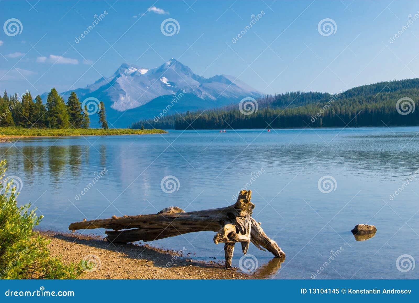 Schöner Gebirgssee