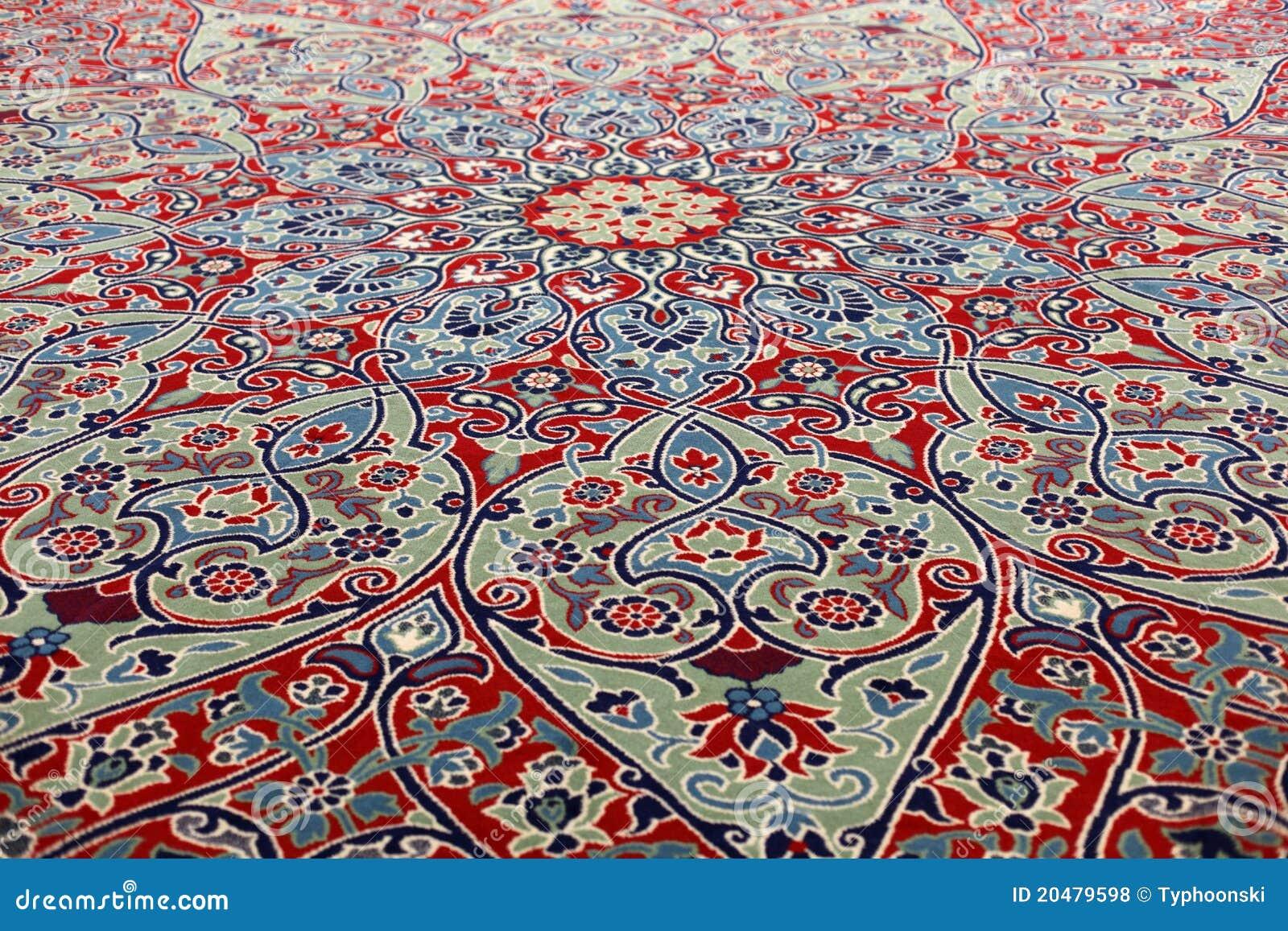 Orientalischer teppich  Schöner Orientalischer Teppich Lizenzfreie Stockfotos - Bild: 20479598