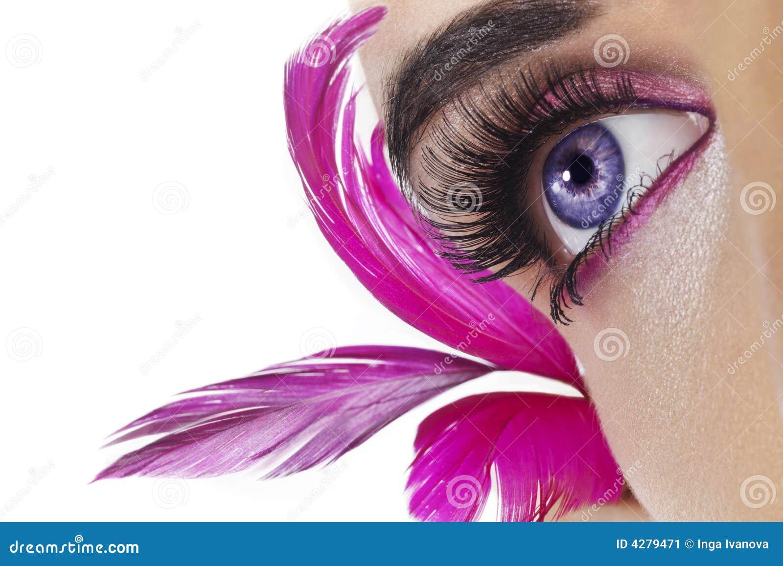 Schönes Auge