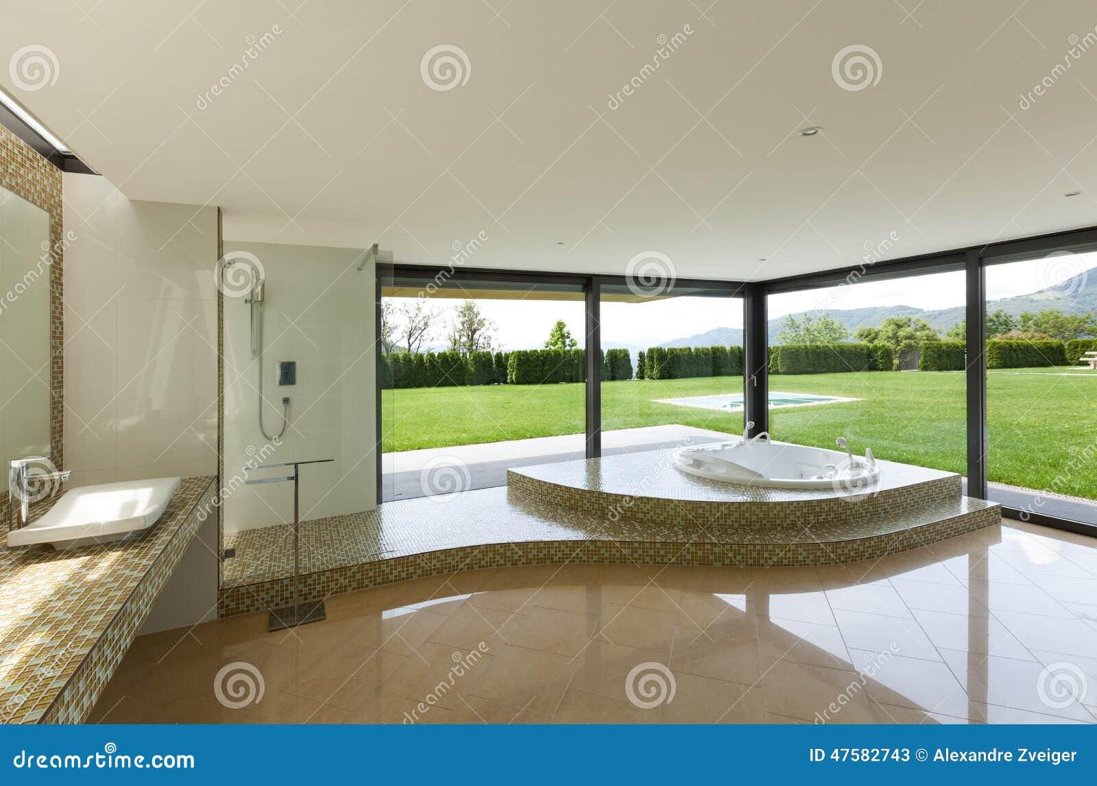 Schönes Badezimmer Mit Jacuzzi