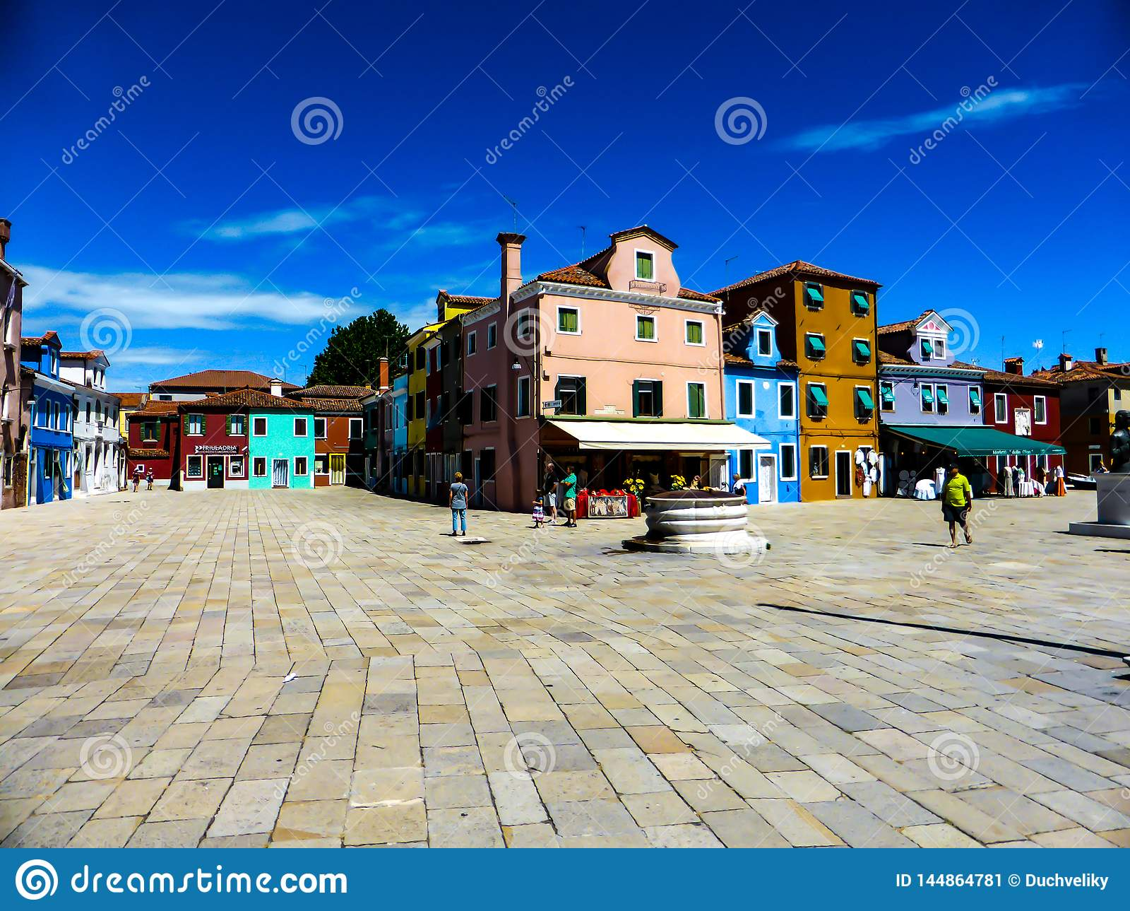 Schönes Foto von Murano - Venedig Italien