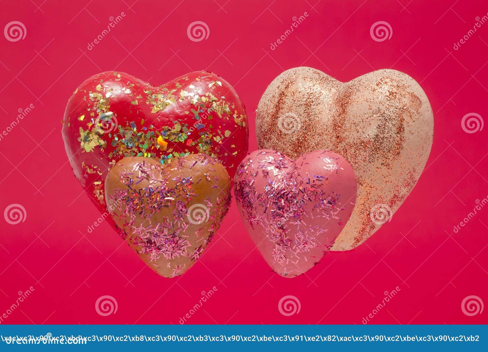 Schönes Herz vier stockfoto. Bild von groß, inneres, liebe - 66254448