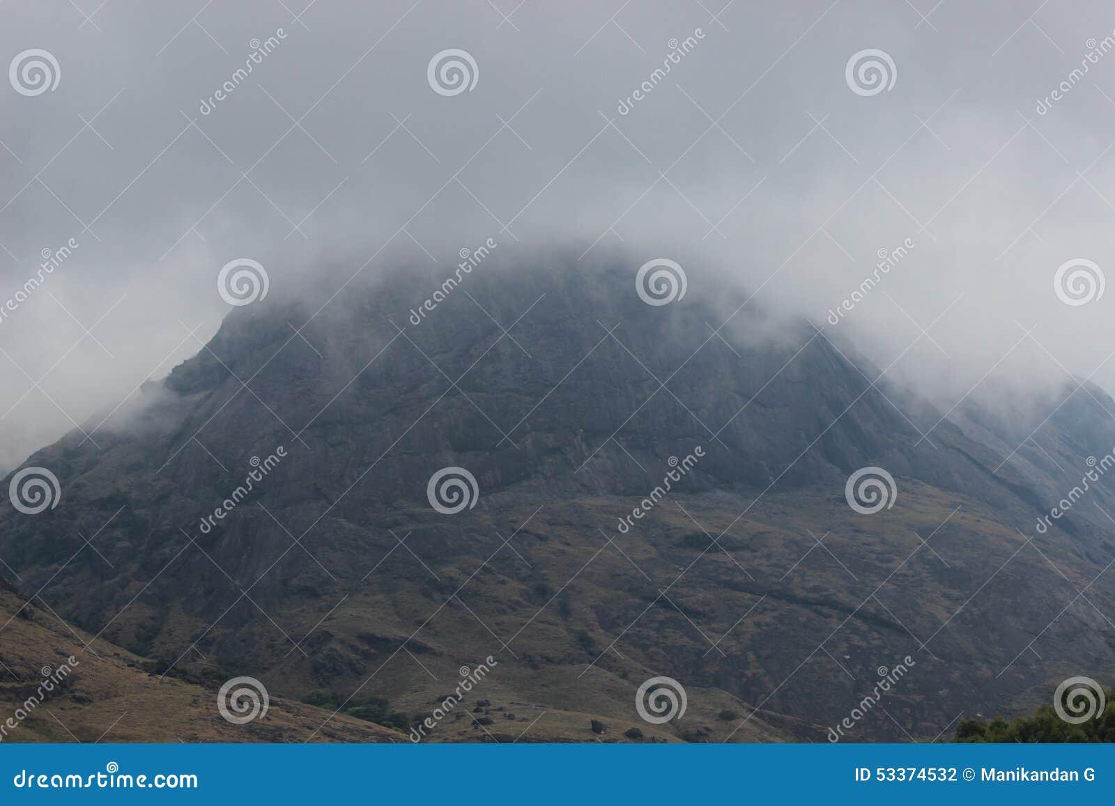 Schönes Indian Hills, Munnar, Kerala, Indien