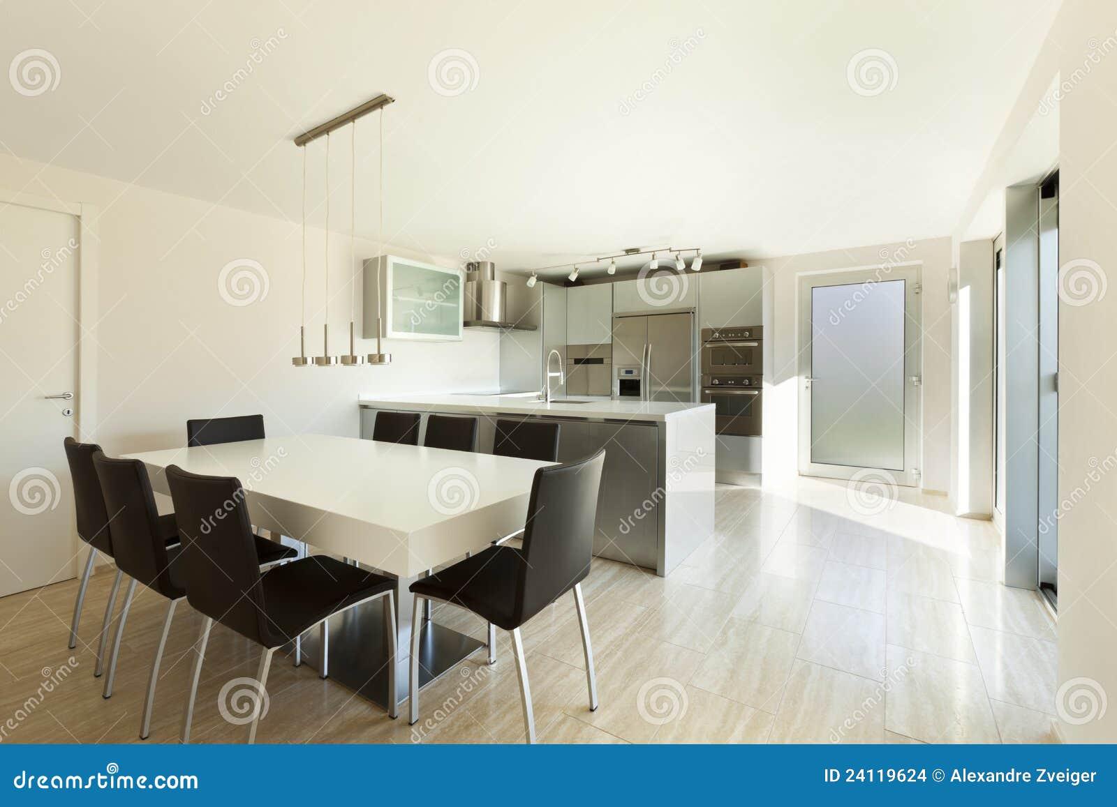 Schönes Modernes Haus, Innen Stockfoto - Bild von konkret, bequem ...