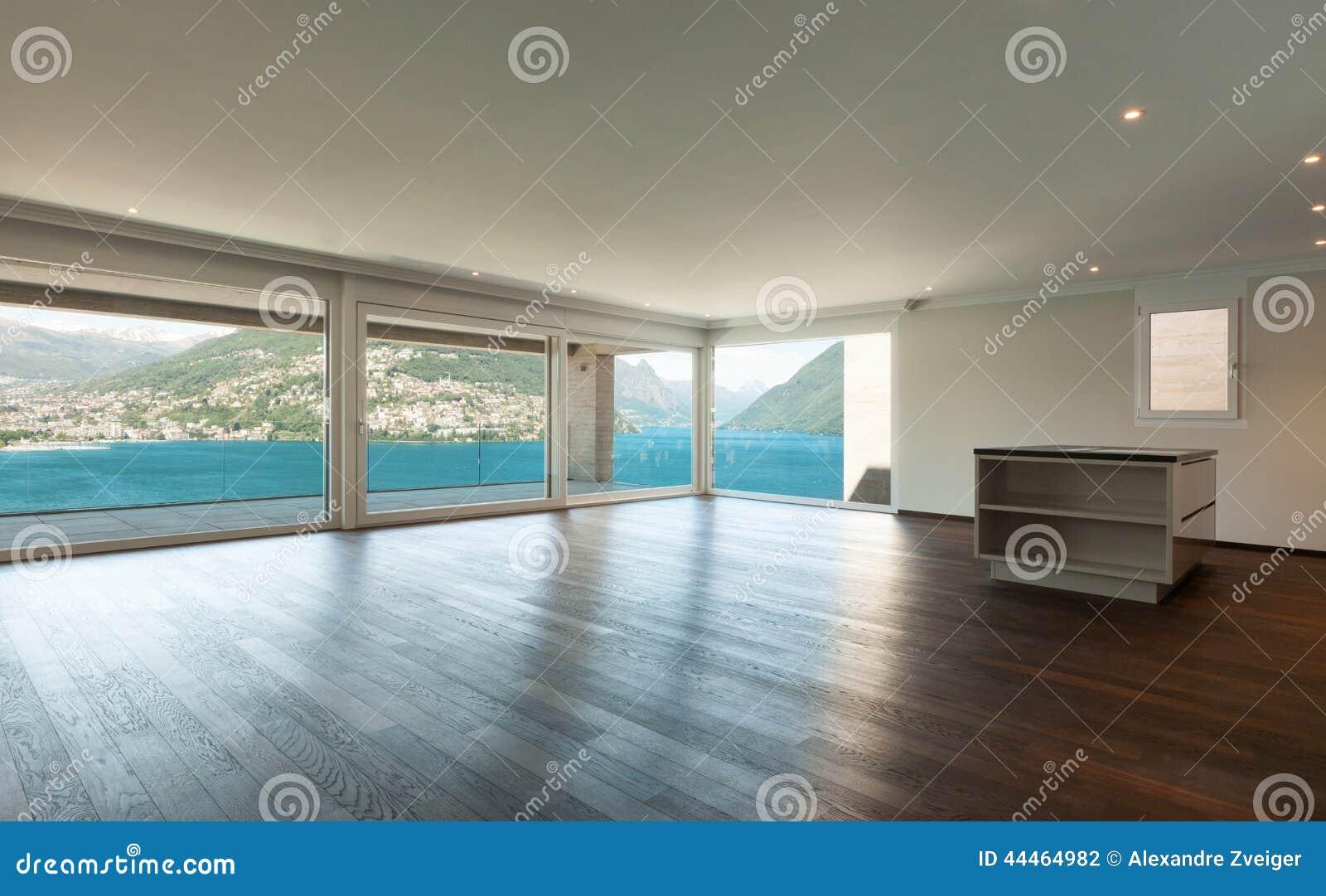 sch nes modernes haus innen stockfoto bild 44464982. Black Bedroom Furniture Sets. Home Design Ideas