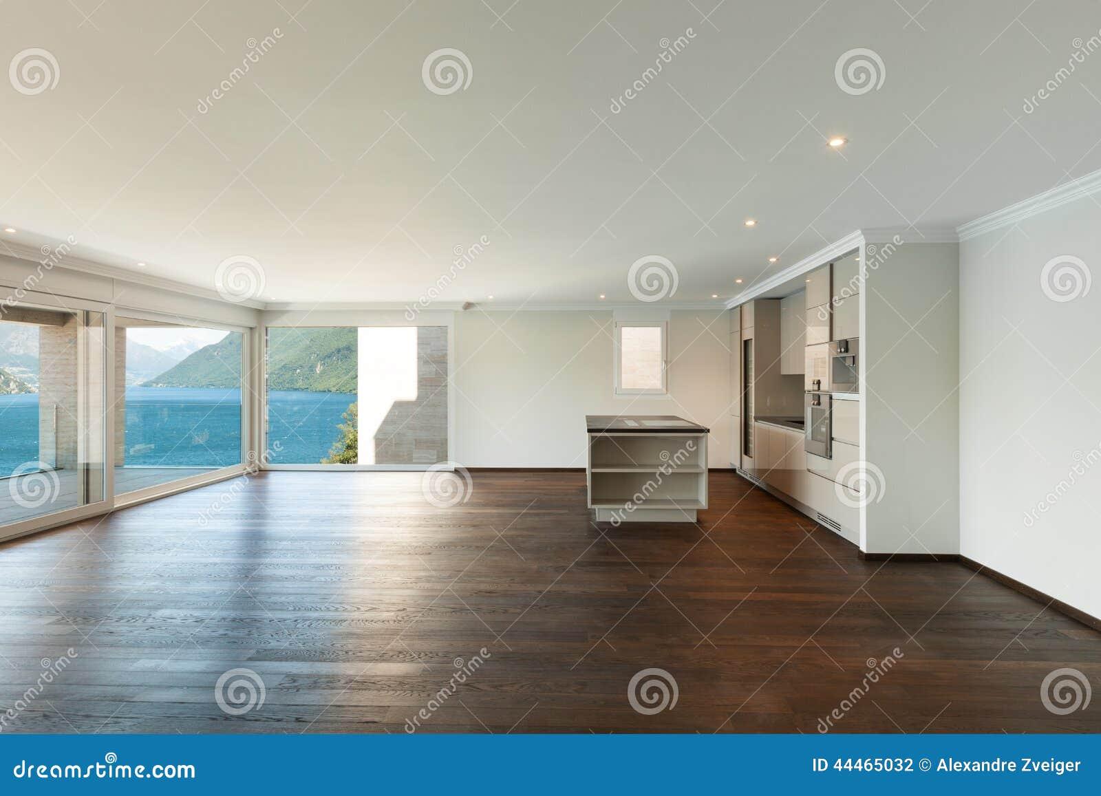 Schönes Modernes Haus, Innen Stockfoto - Bild von innen, geöffnet ...