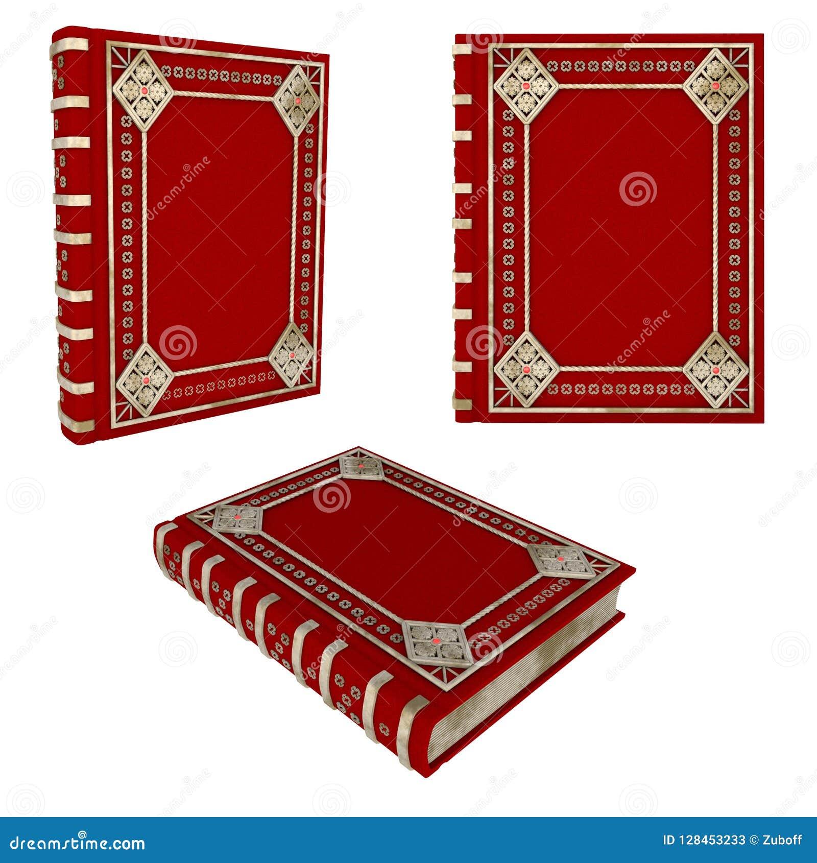 Schönes rotes Buch
