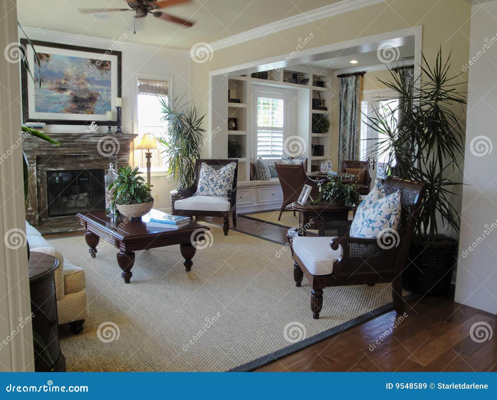 schönes wohnzimmer lizenzfreie stockbilder - bild: 9548589, Wohnzimmer