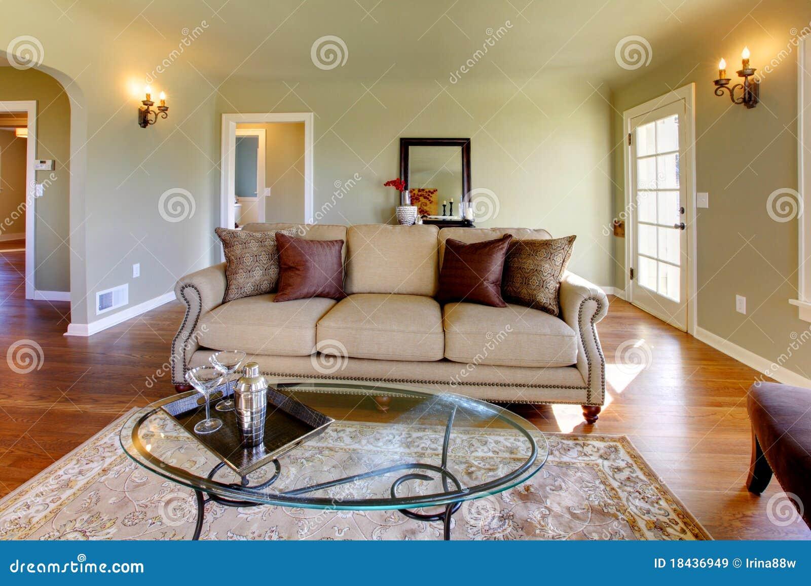 sch nes wohnzimmer mit m rchenkamin lizenzfreie. Black Bedroom Furniture Sets. Home Design Ideas