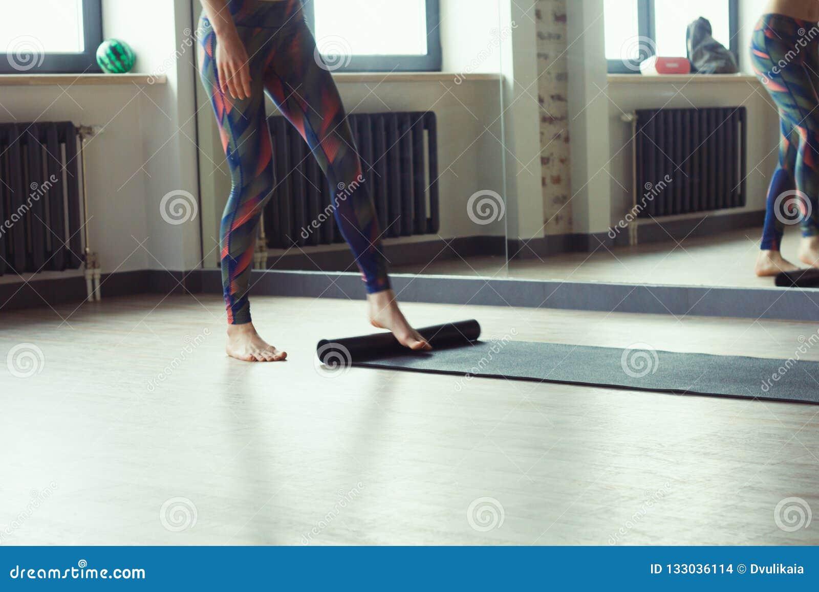 Schönheit in der Yogaklasse