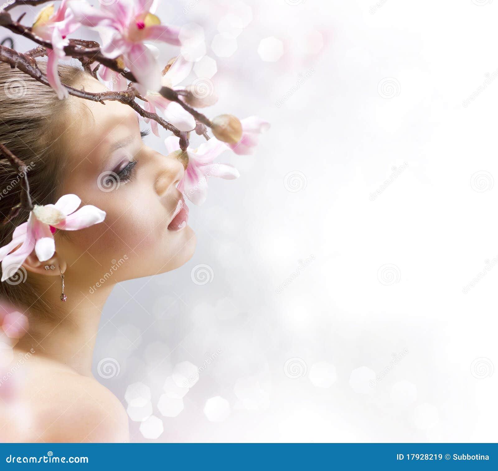 Schönheits-Portrait