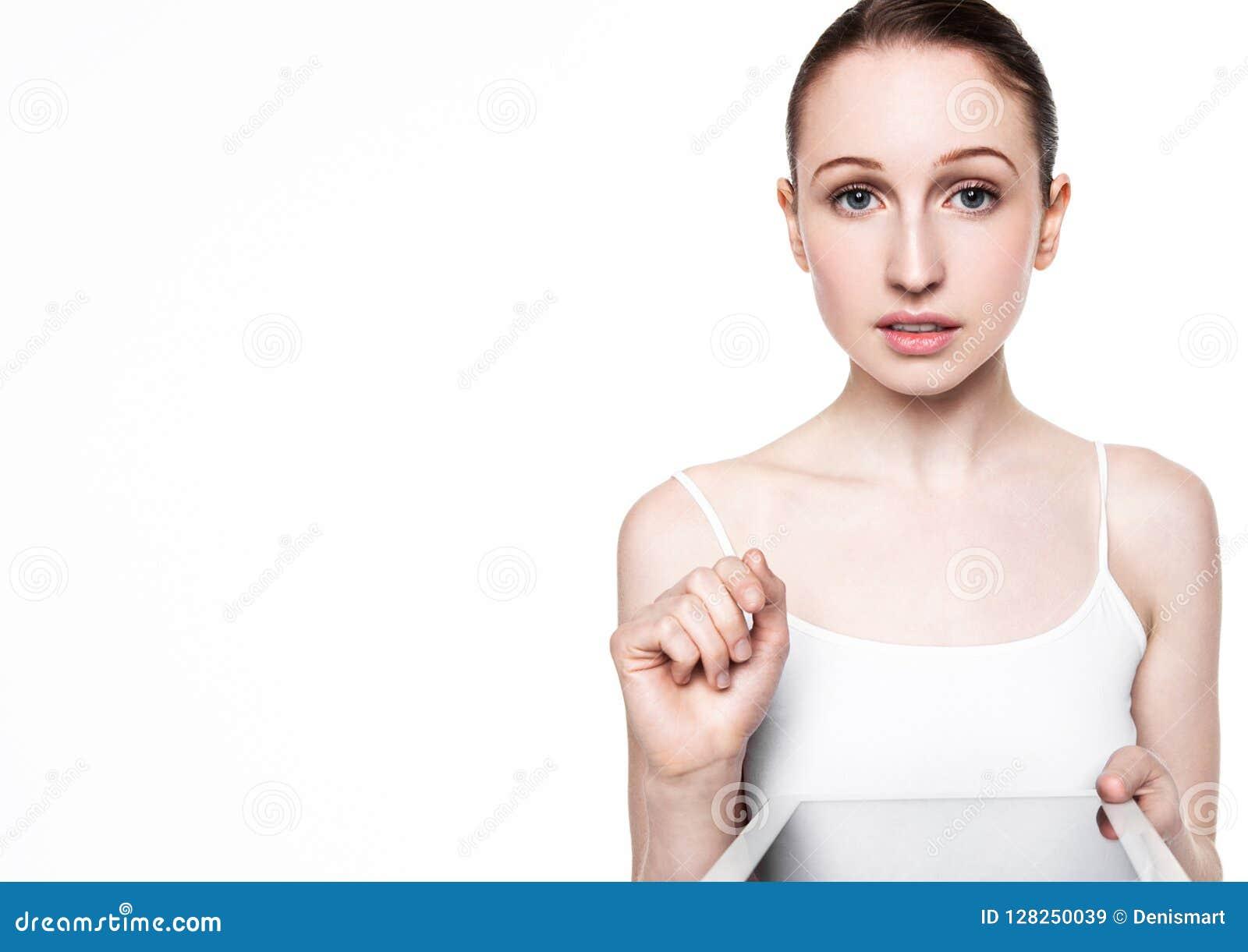 Schönheitsgraseninternet auf Tablette