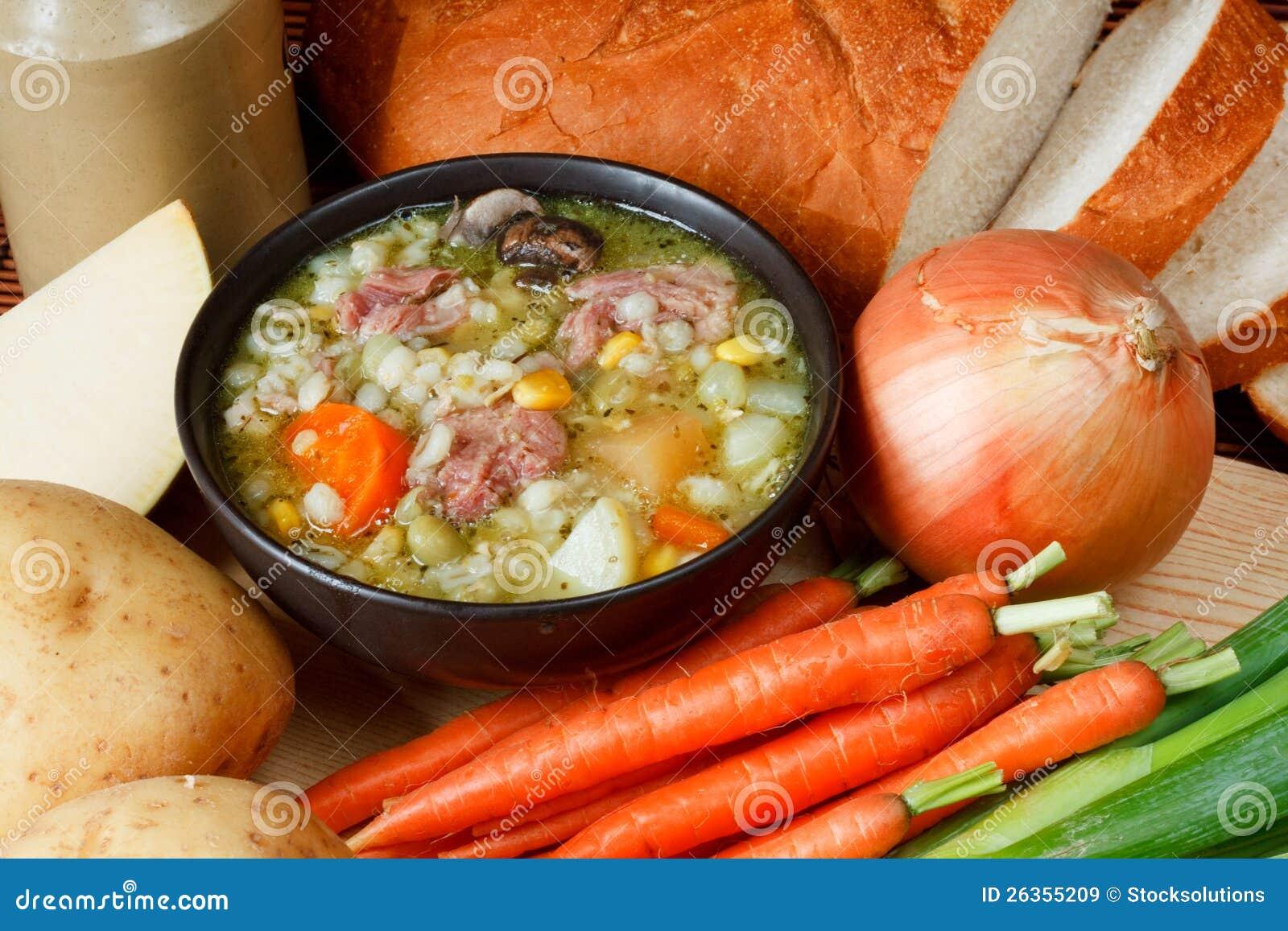 Schüssel selbst gemachte Suppe