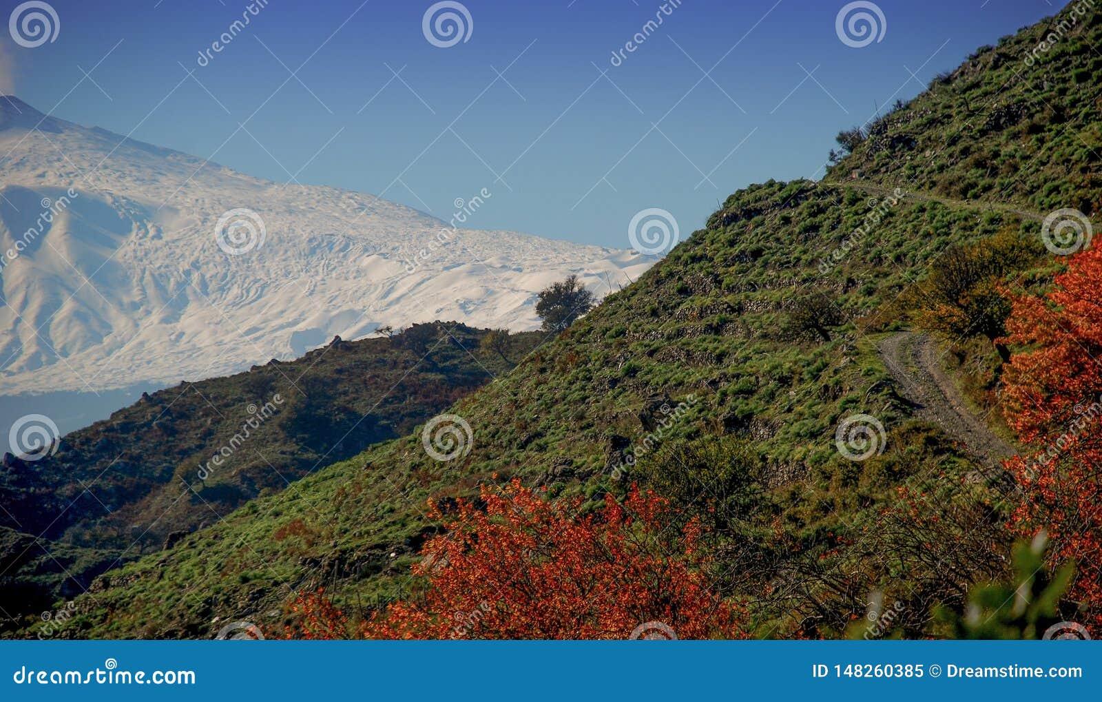 Sch?nes Bild Etna Volcanos