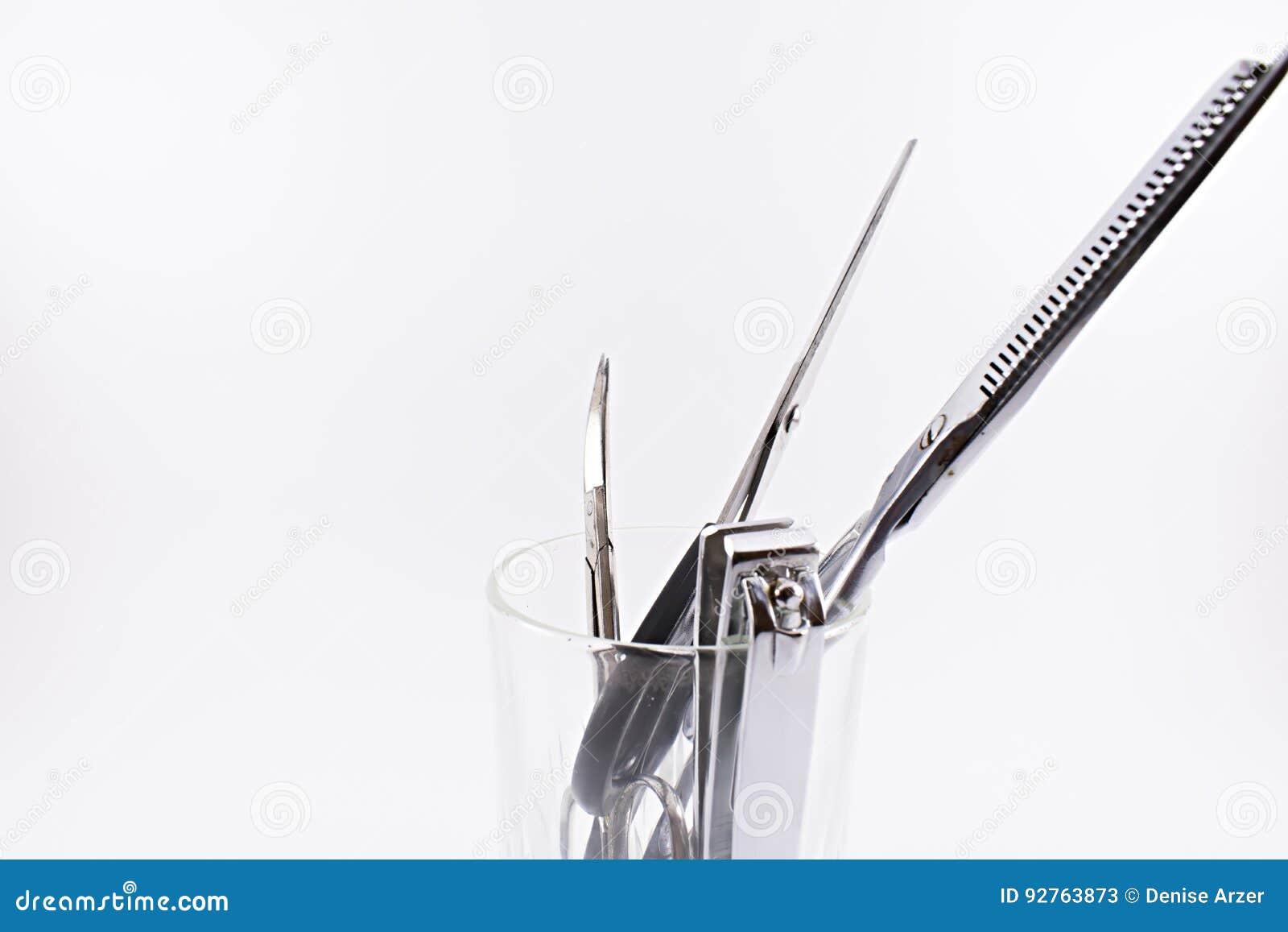 Schaar en spijkerclippers