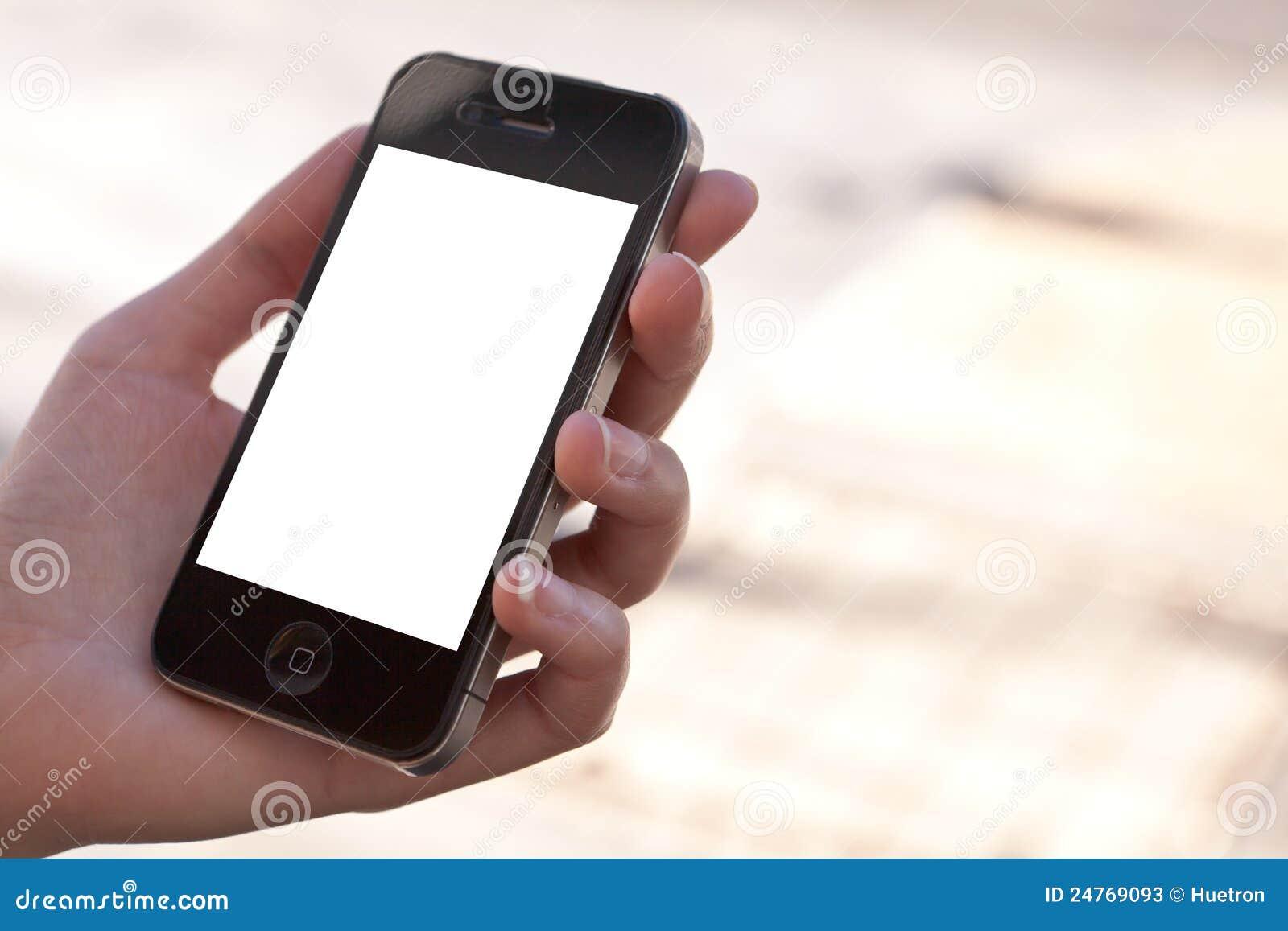 Schablone Apple-Iphone