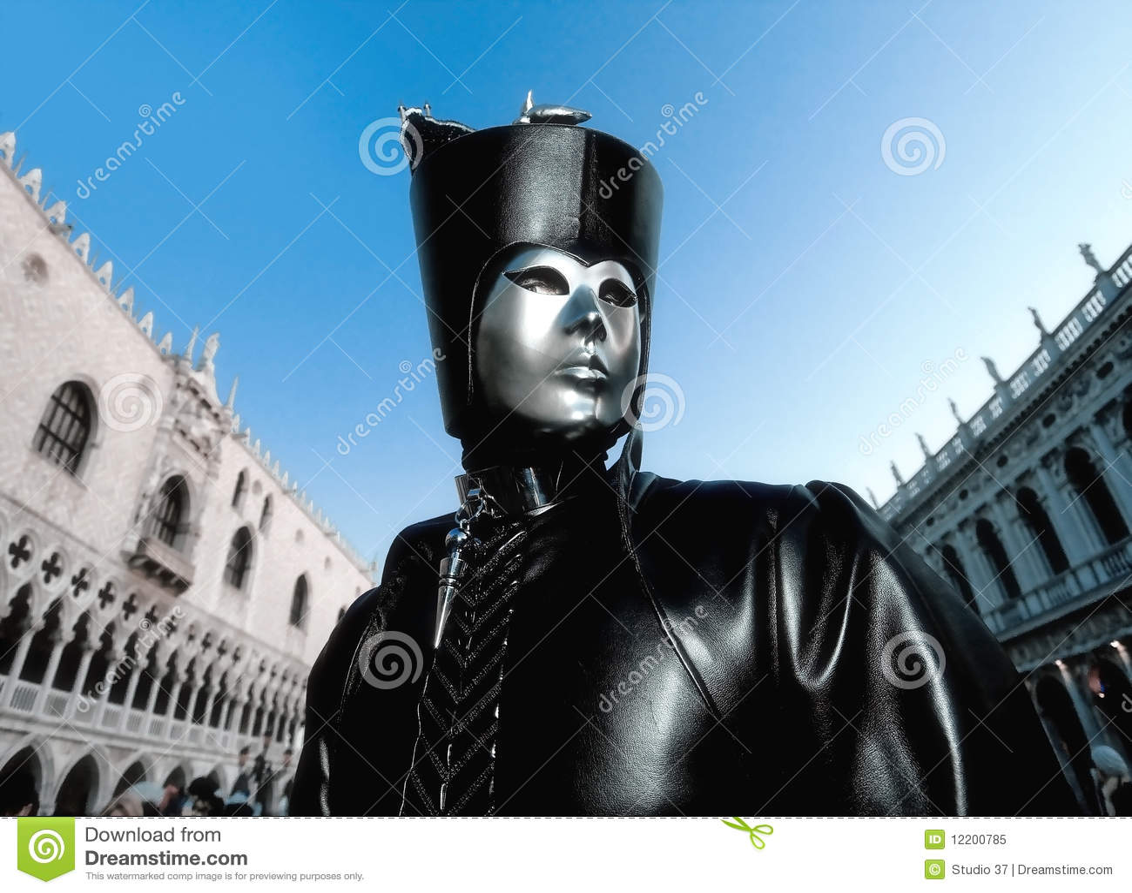 Schablone in Venedig, Italien