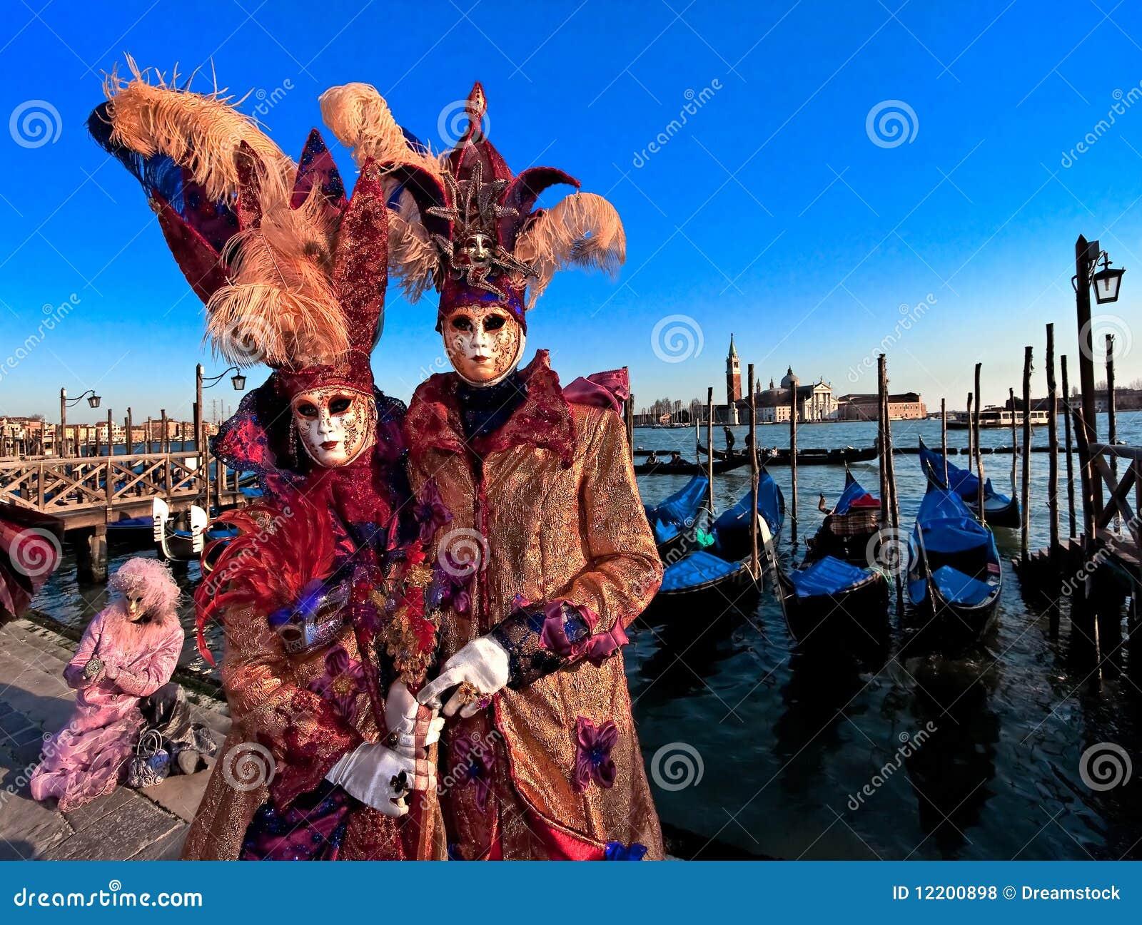Schablonen in Venedig, Italien