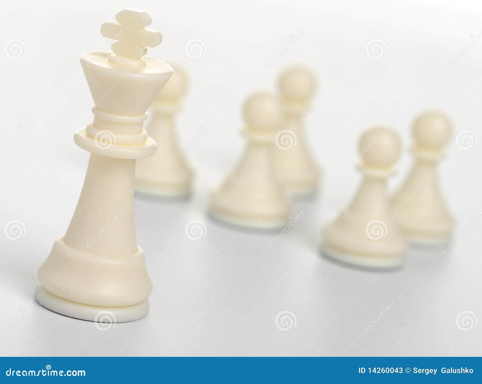 Schachabbildung - König