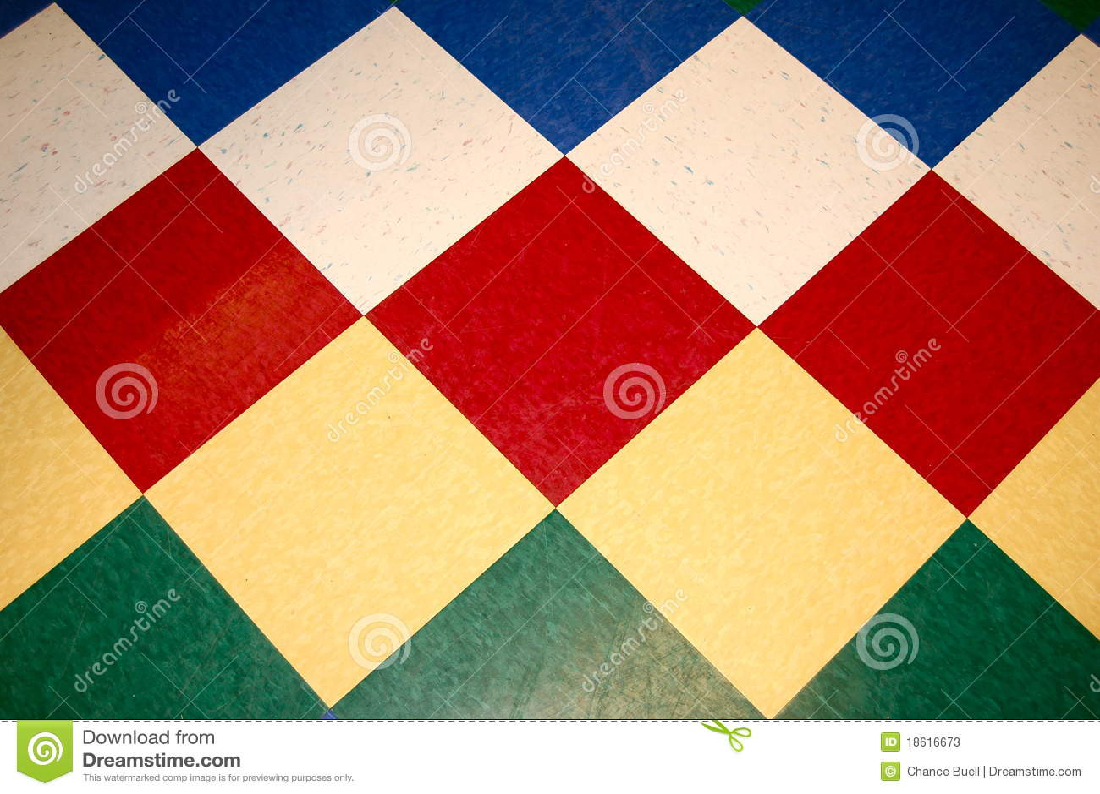 Fußboden Fliesen Rot ~ Schachbrett fliese fußboden rot blau grün gelb stockbild