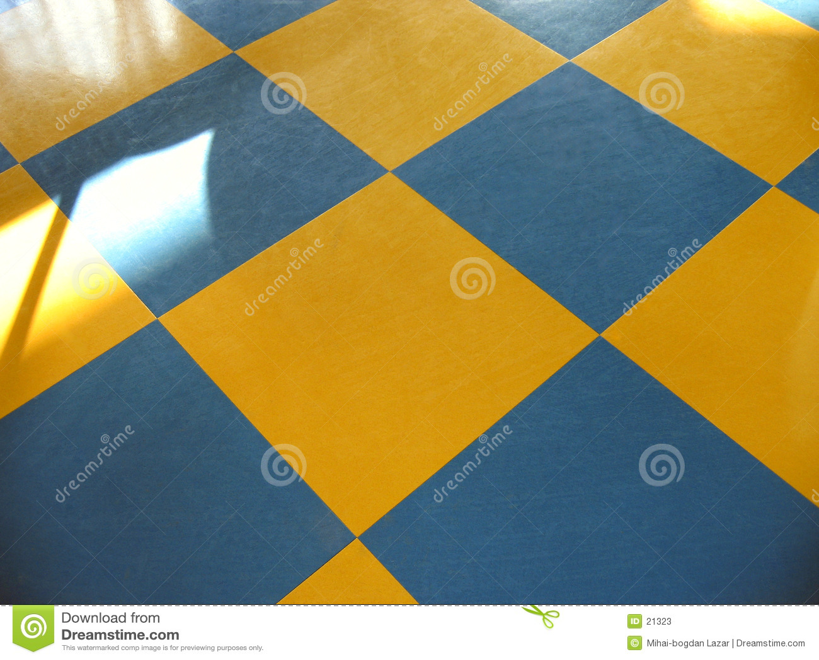 Schachfußboden