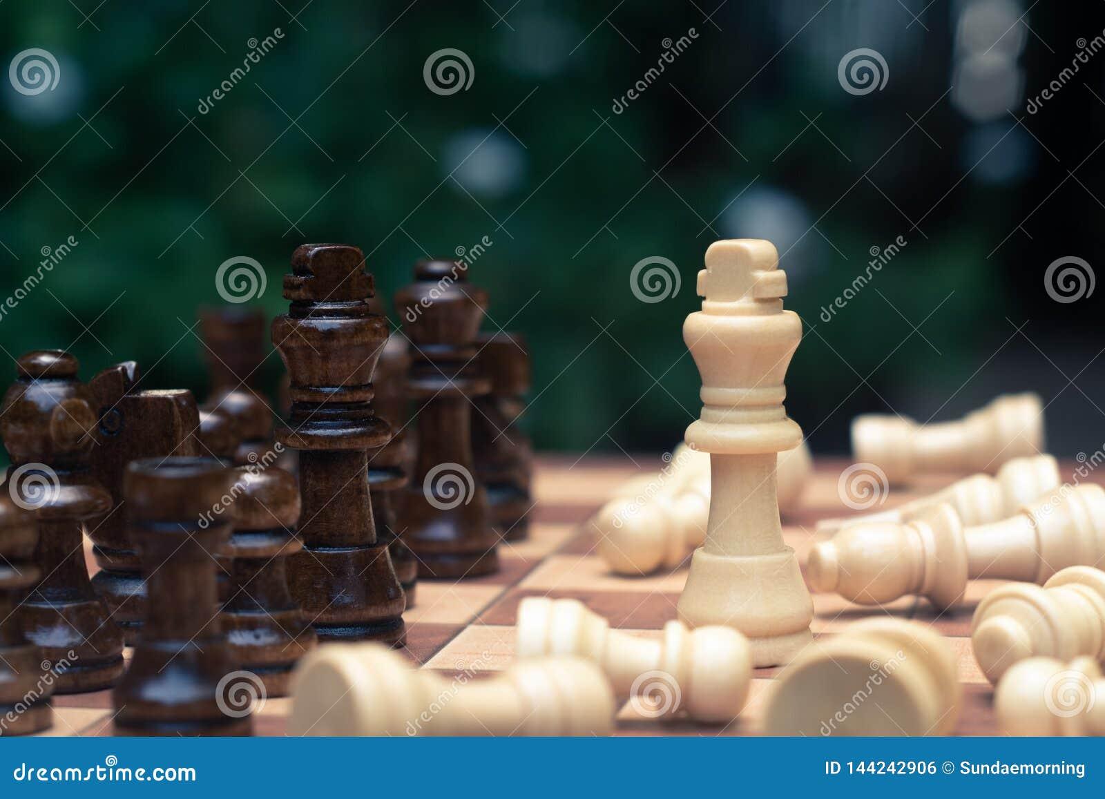 Schackbrädelek, konkurrenskraftigt begrepp för affär