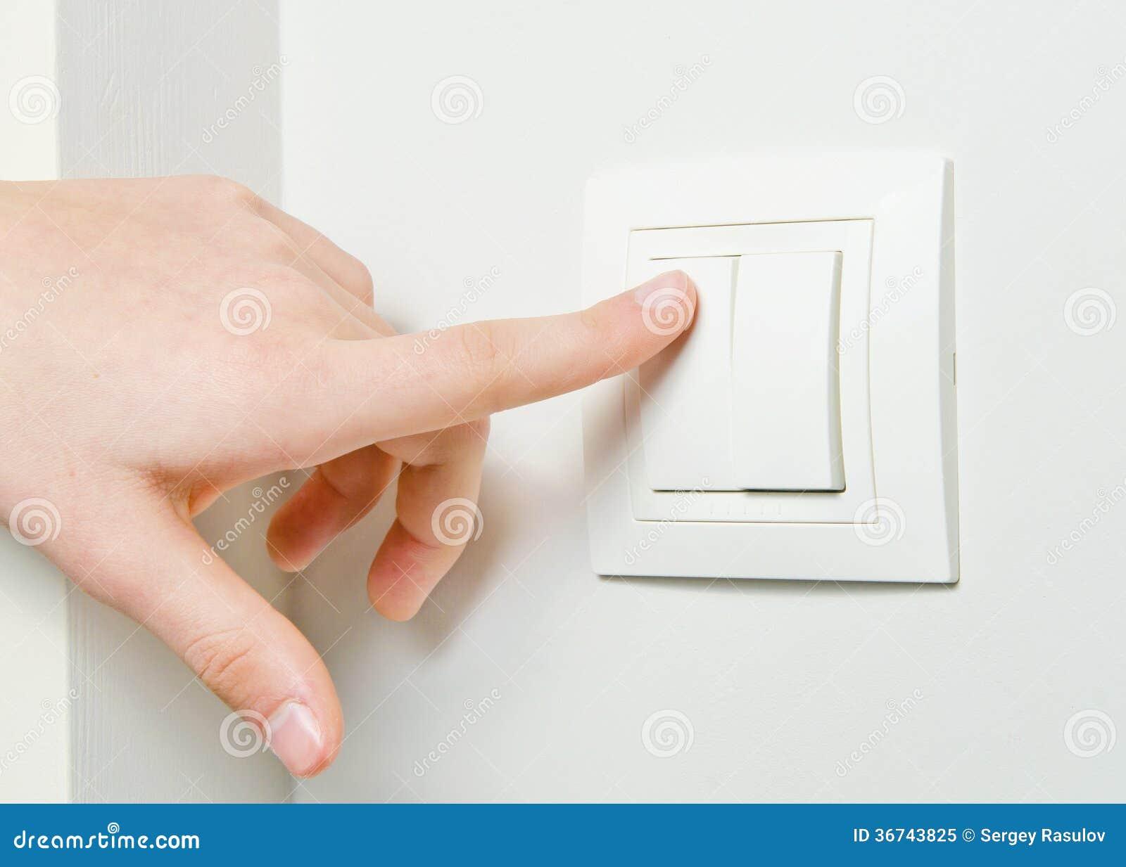 Schalten Sie Licht aus stockbild. Bild von erhaltung - 36743825