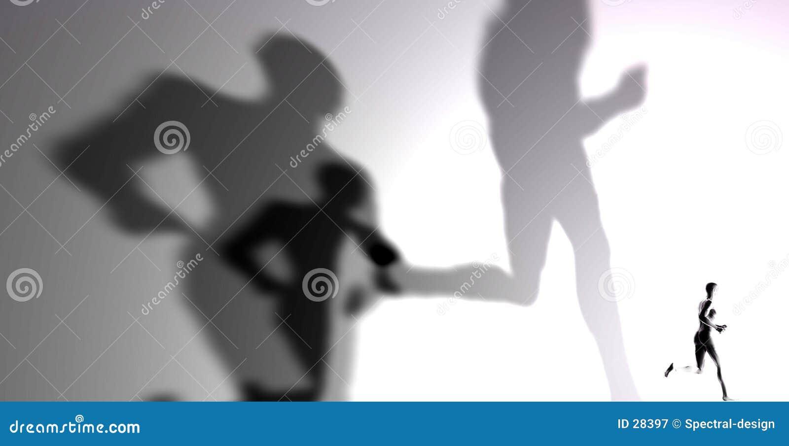 Download Schatten stock abbildung. Illustration von kontrast, leuchte - 28397