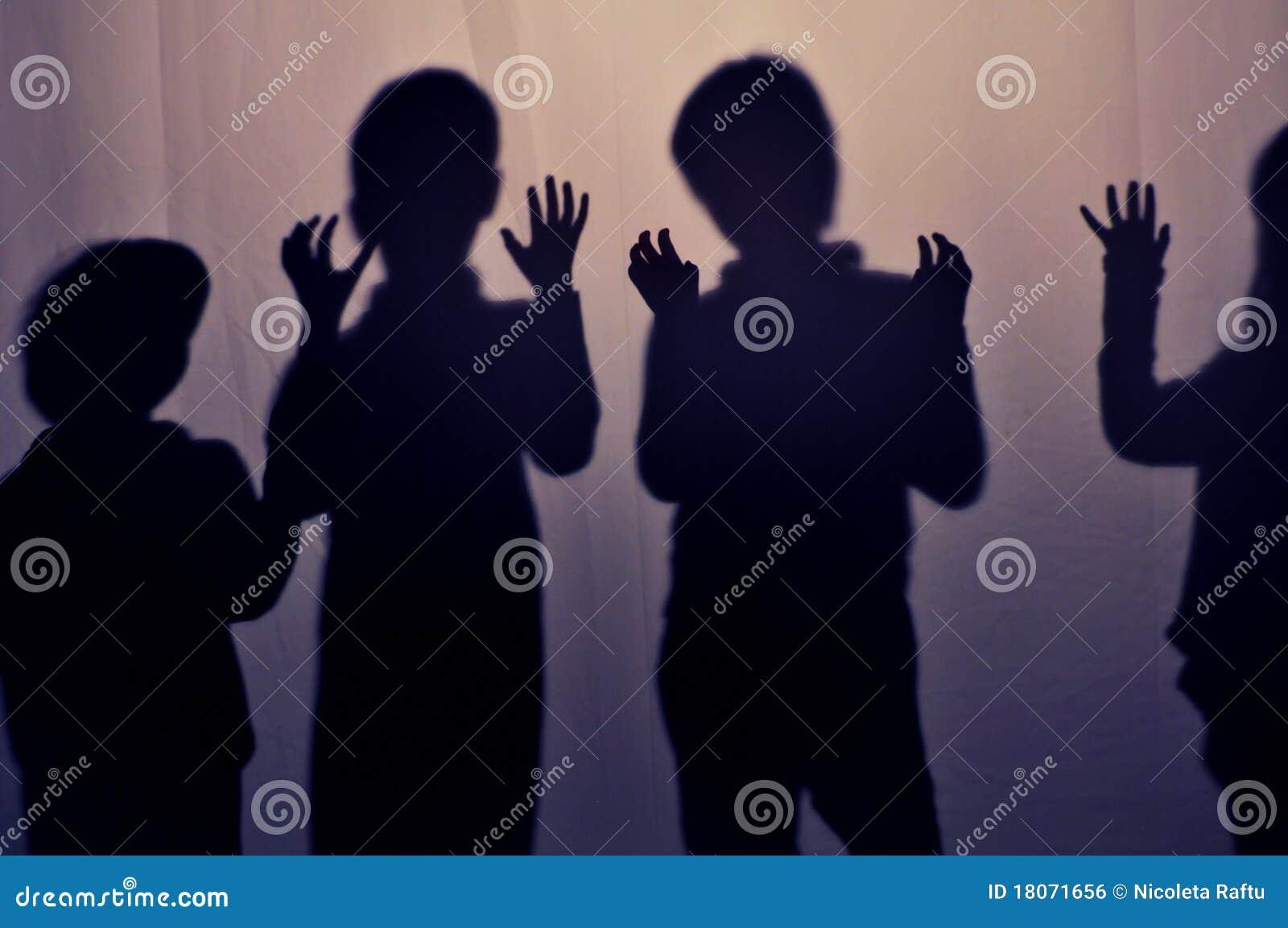 Schatten der Kinder