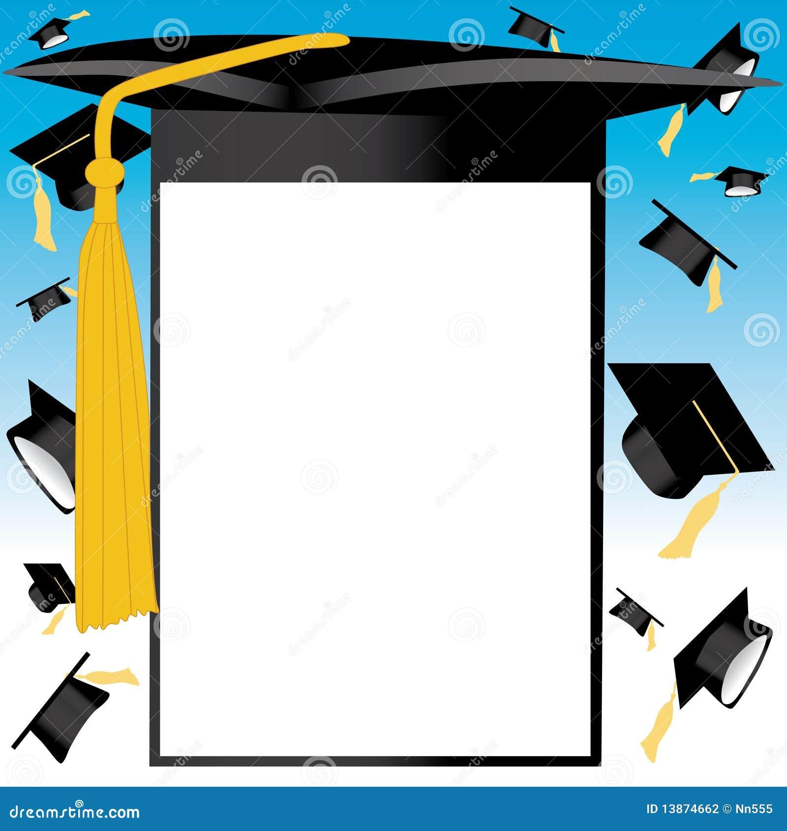 Scheda del cappello di graduazione