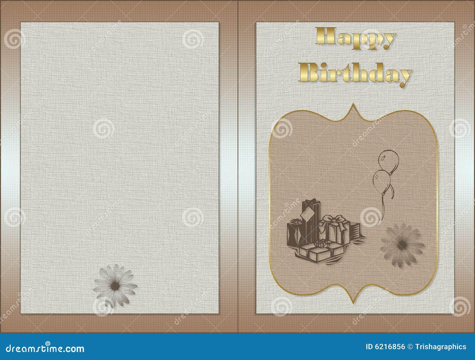Scheda di compleanno