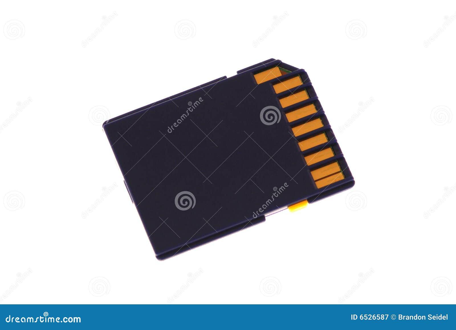 Scheda di memoria di deviazione standard