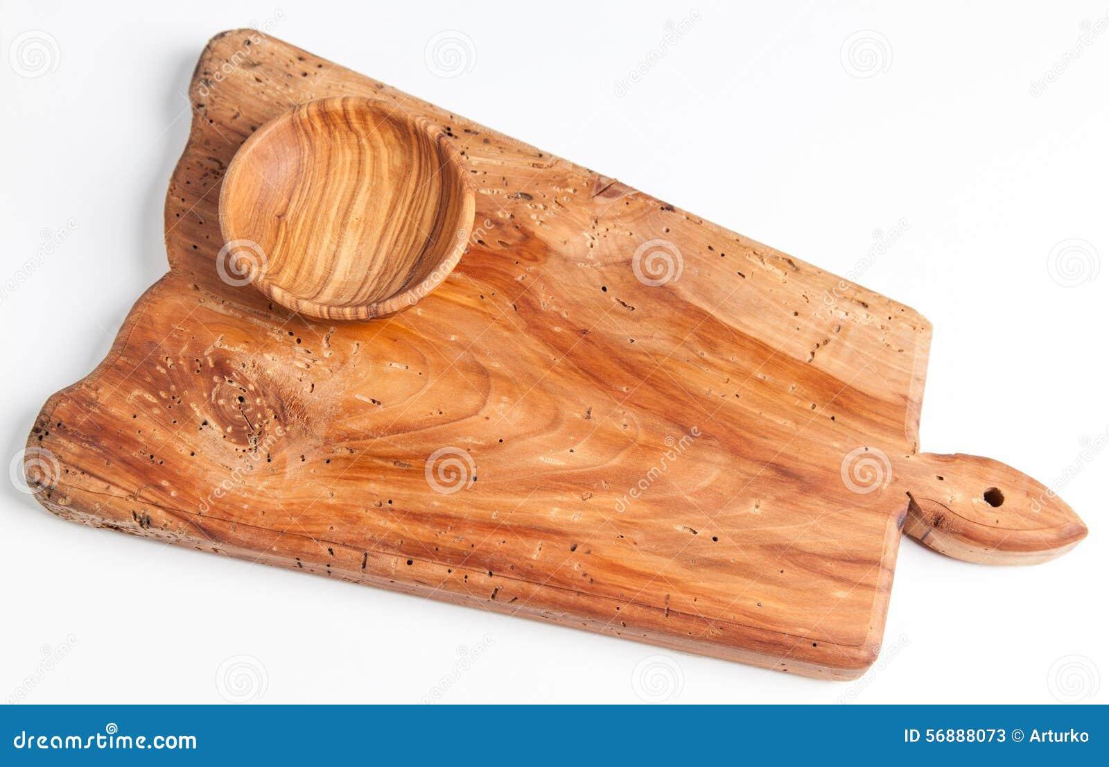Scheda di taglio di legno anziana