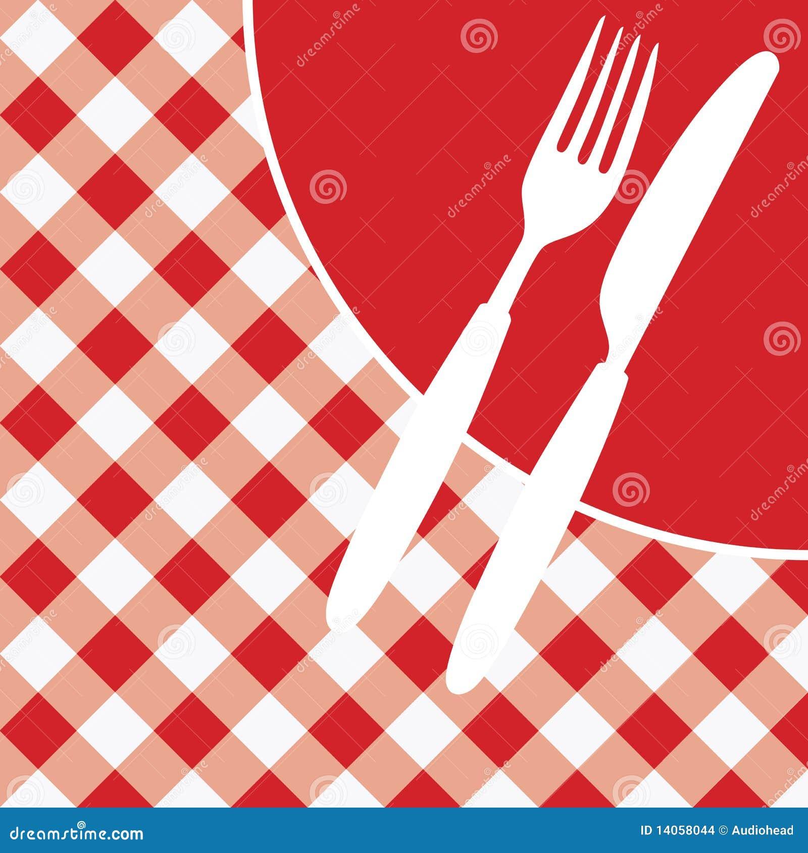 Scheda/invito del menu