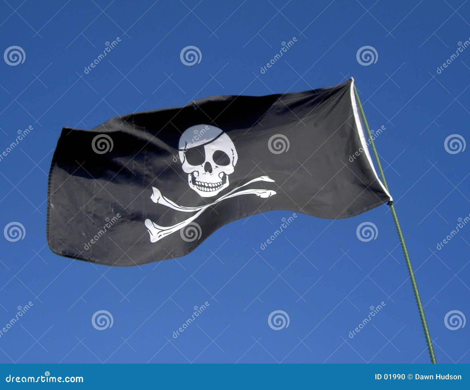 Schedel en de Vlag van Gekruiste knekels