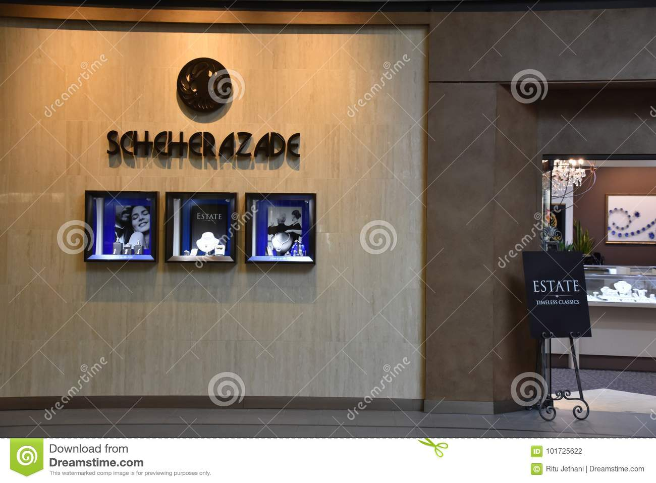 Scheherazade store at the Galleria in Edina, Minnesota