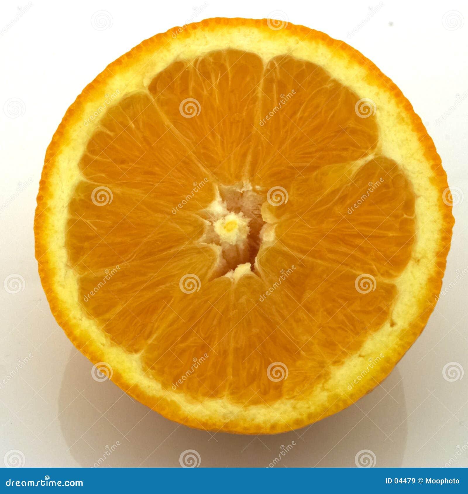 Scheibe der Orange