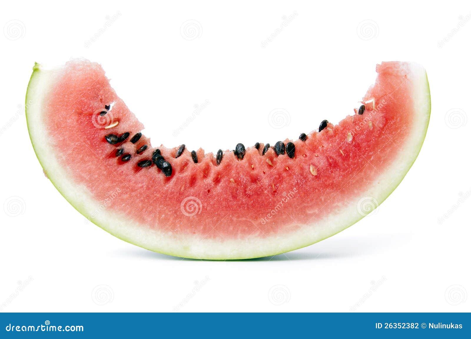 Scheibe der Wassermelone