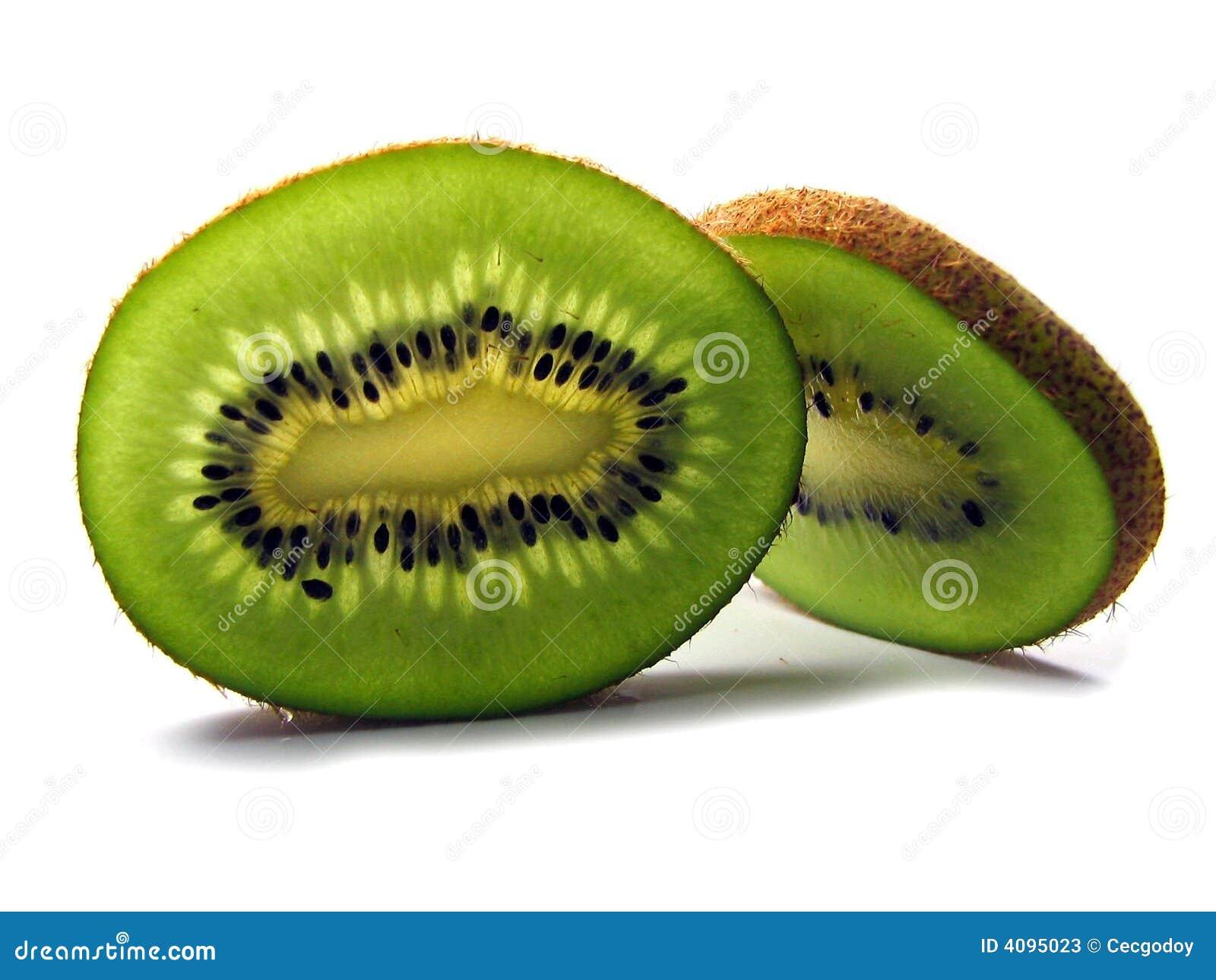 Scheiben der Kiwi