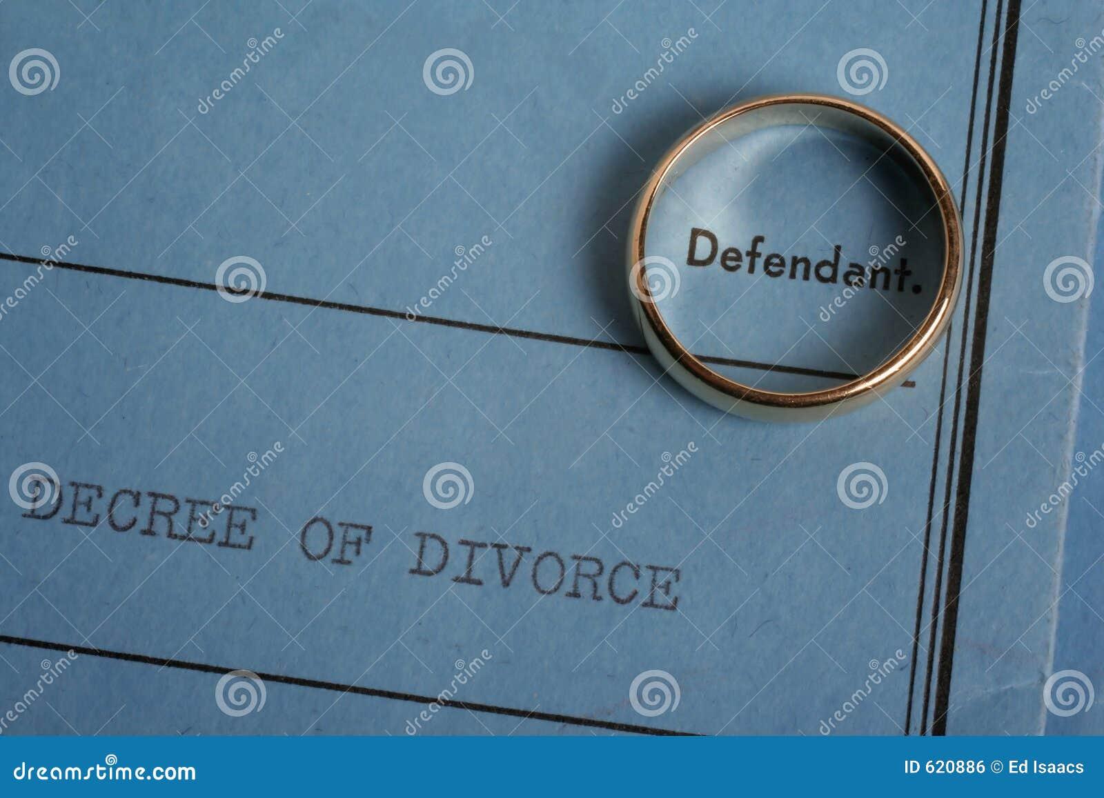 Scheidung-Papiere