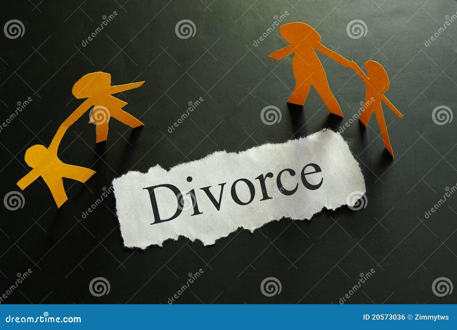 Scheidungkonzept