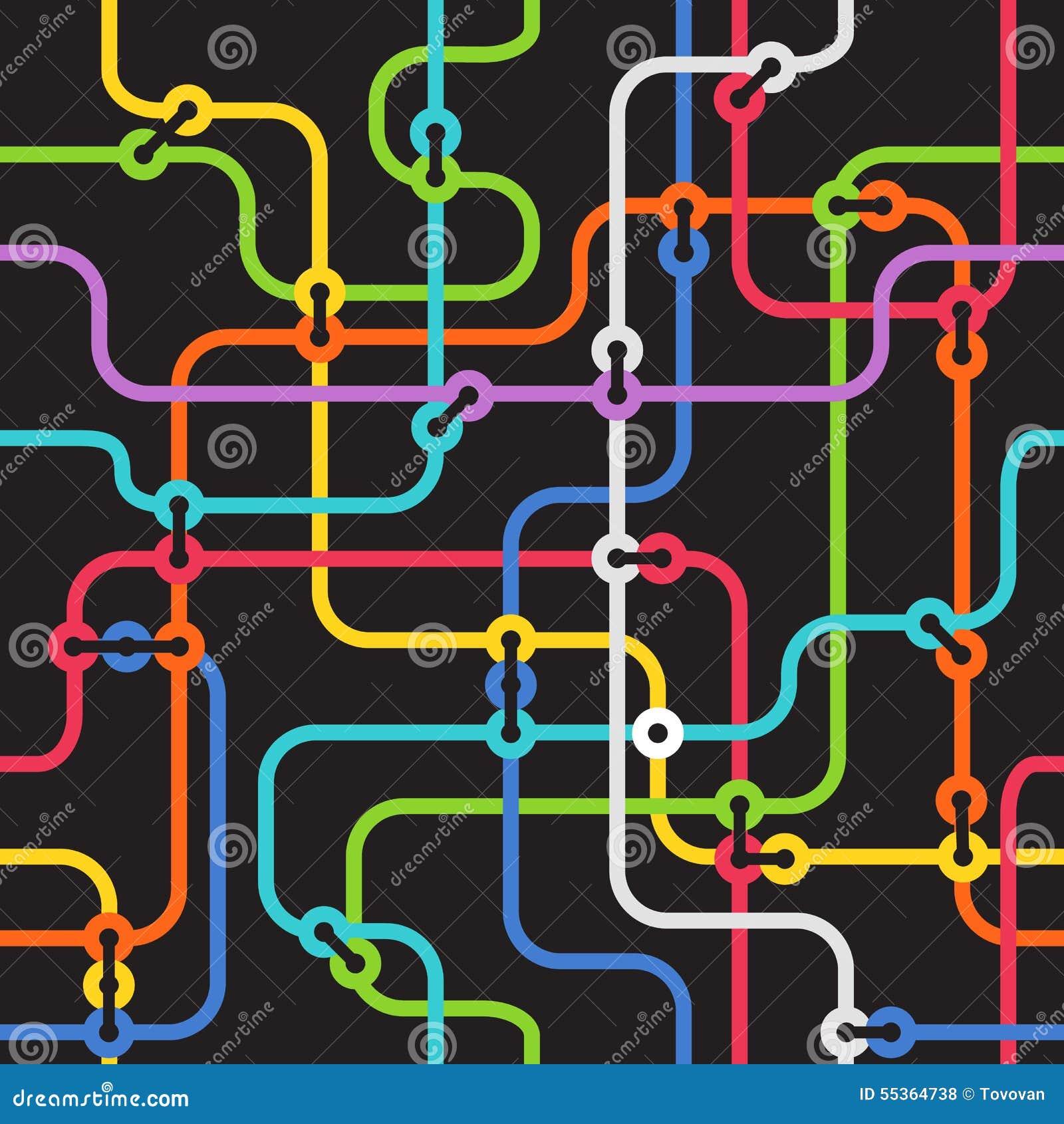 Schema astratto della metropolitana